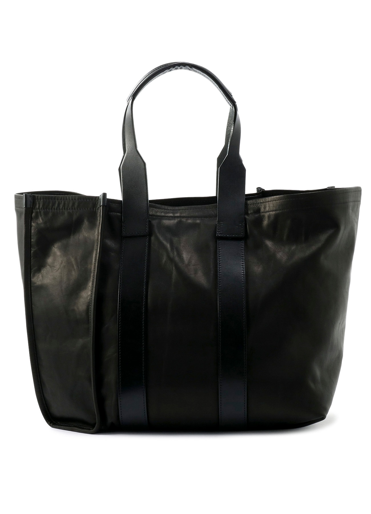 Hexagon Tote(L)Leather