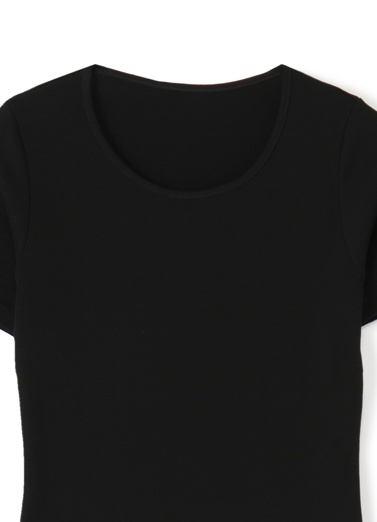 100/2 strongly Strong-Twist smooth side name round neck half T