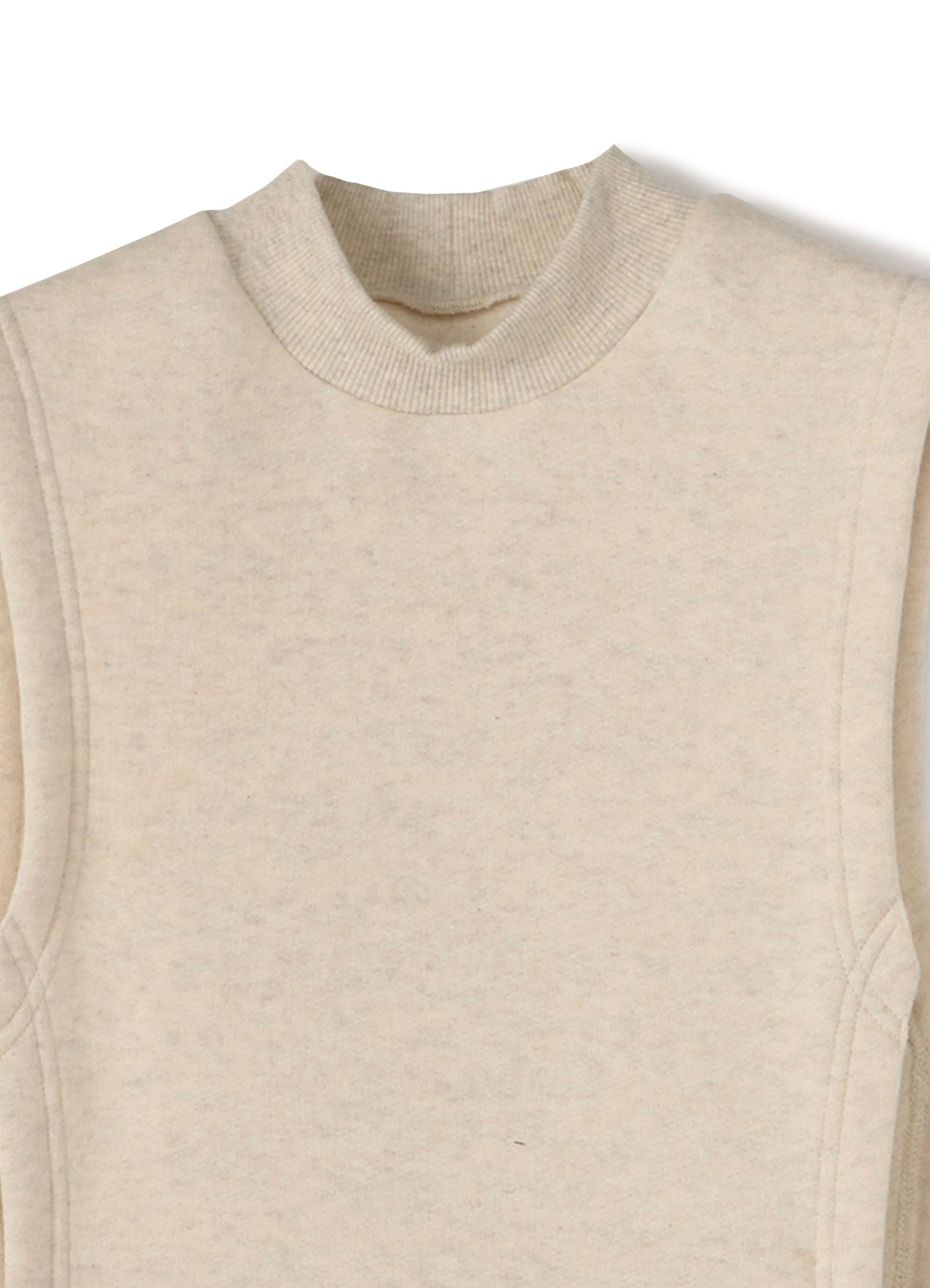 LIY/C Back Brushed R-Mock Neck Best