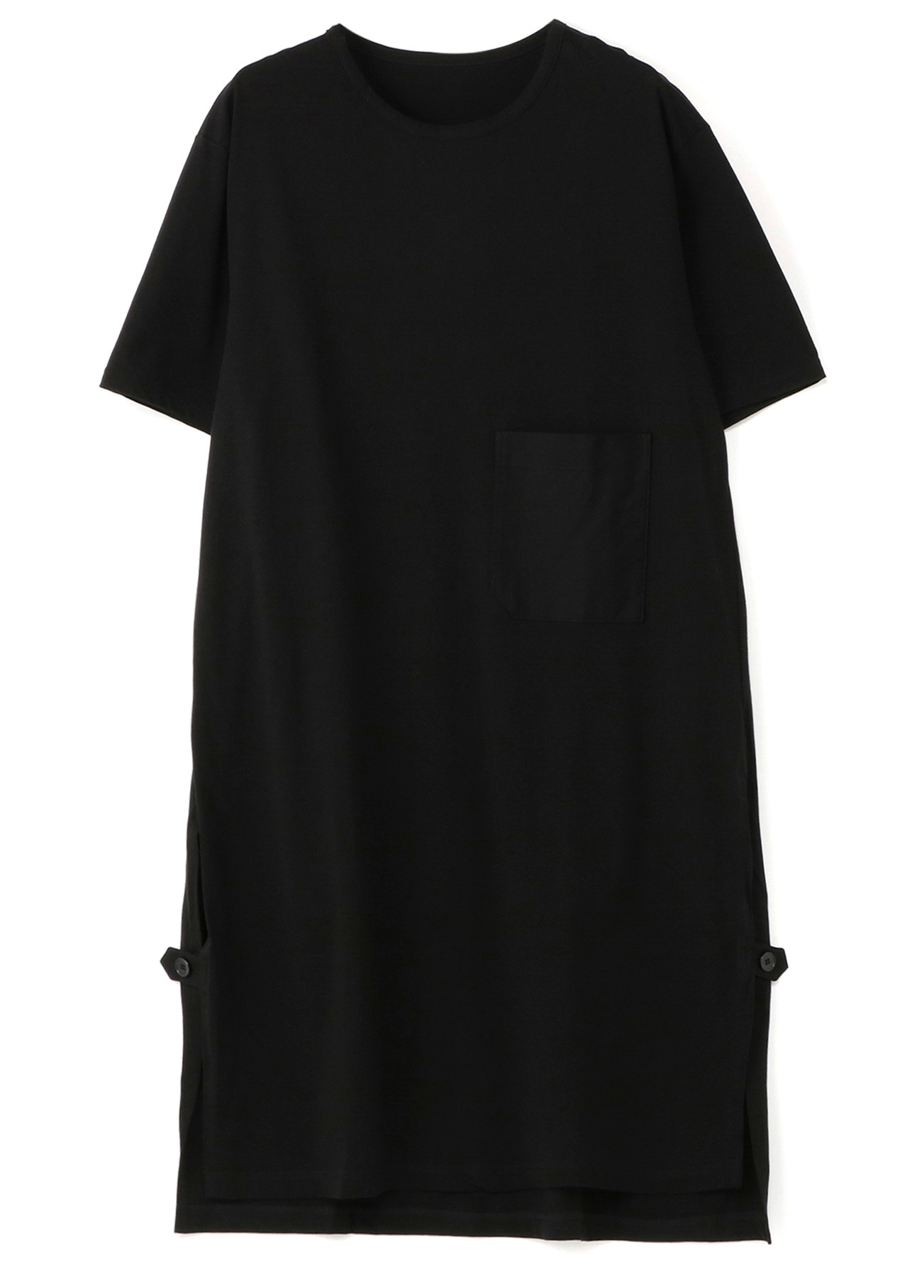 30 / cotton Jersey Pocket Long T