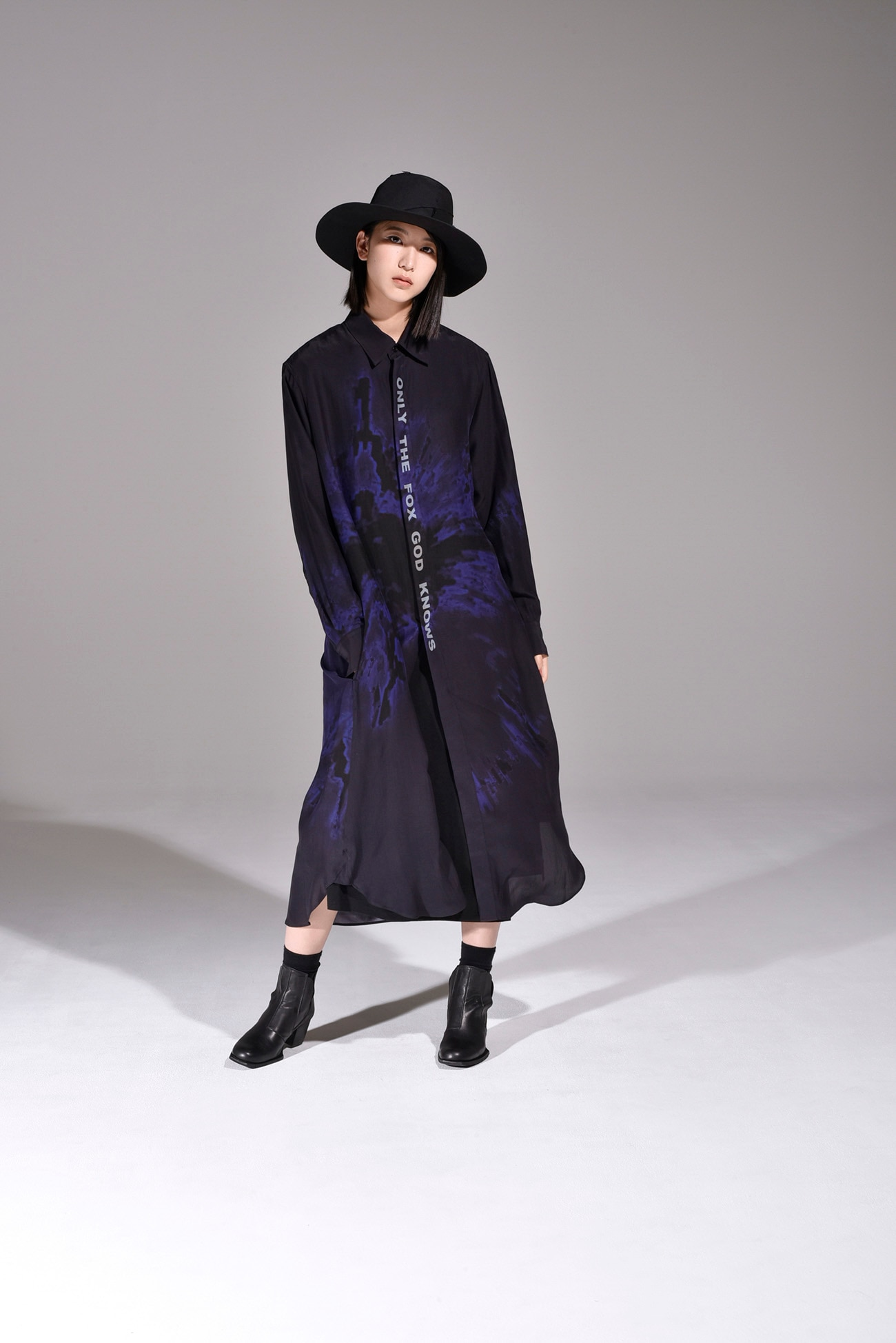 "Ground Y feat. BABYMETAL ""GALAXY"" Collection Long Shirt Dress"