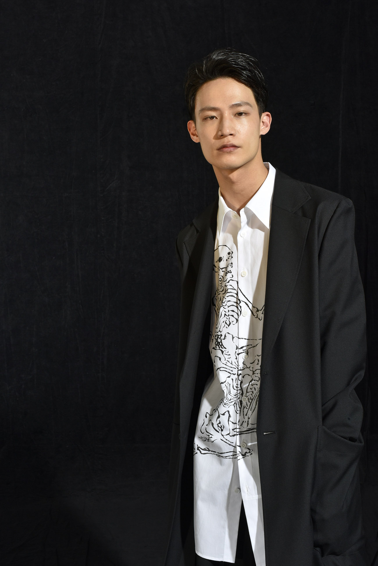 Kawanabe Kyosai-Kawanabe Kyosai-Collaboration Broad Shirt