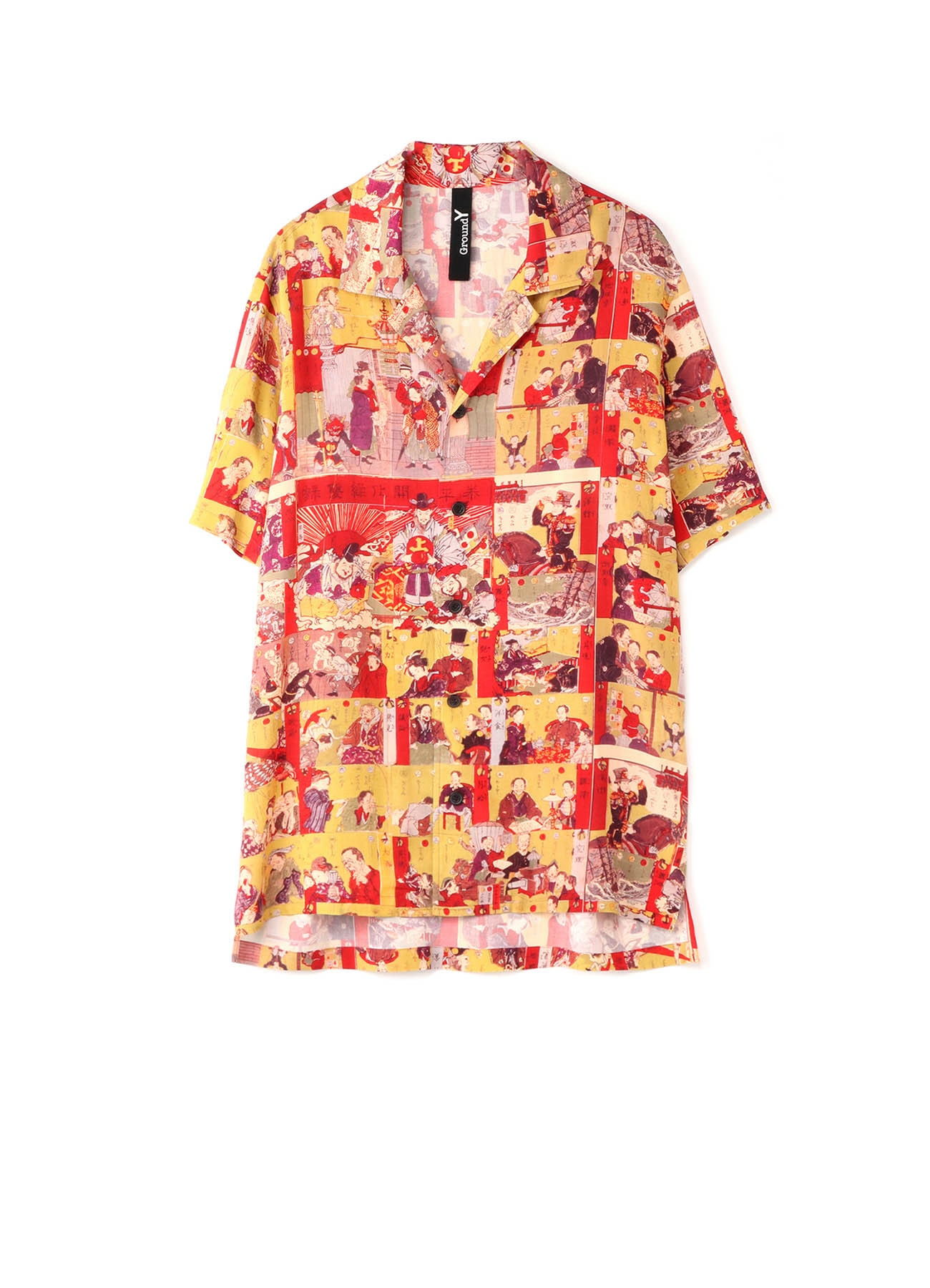 Kawanabe Kyosai-Kawanabe Kyosai-Collaboration Short Sleeves Shirt