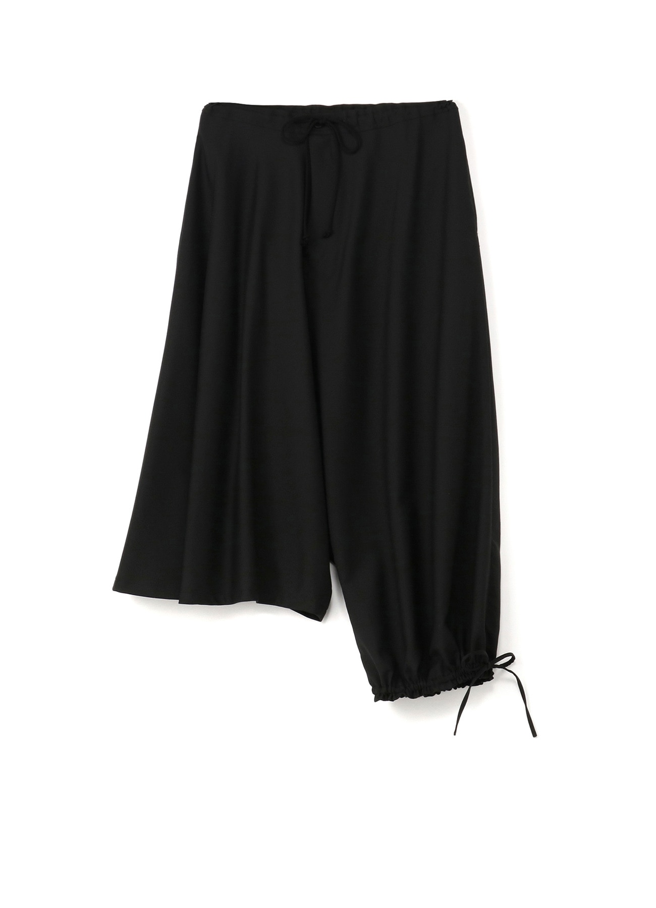T / W gaberdine Asymmetric Balloon Pants