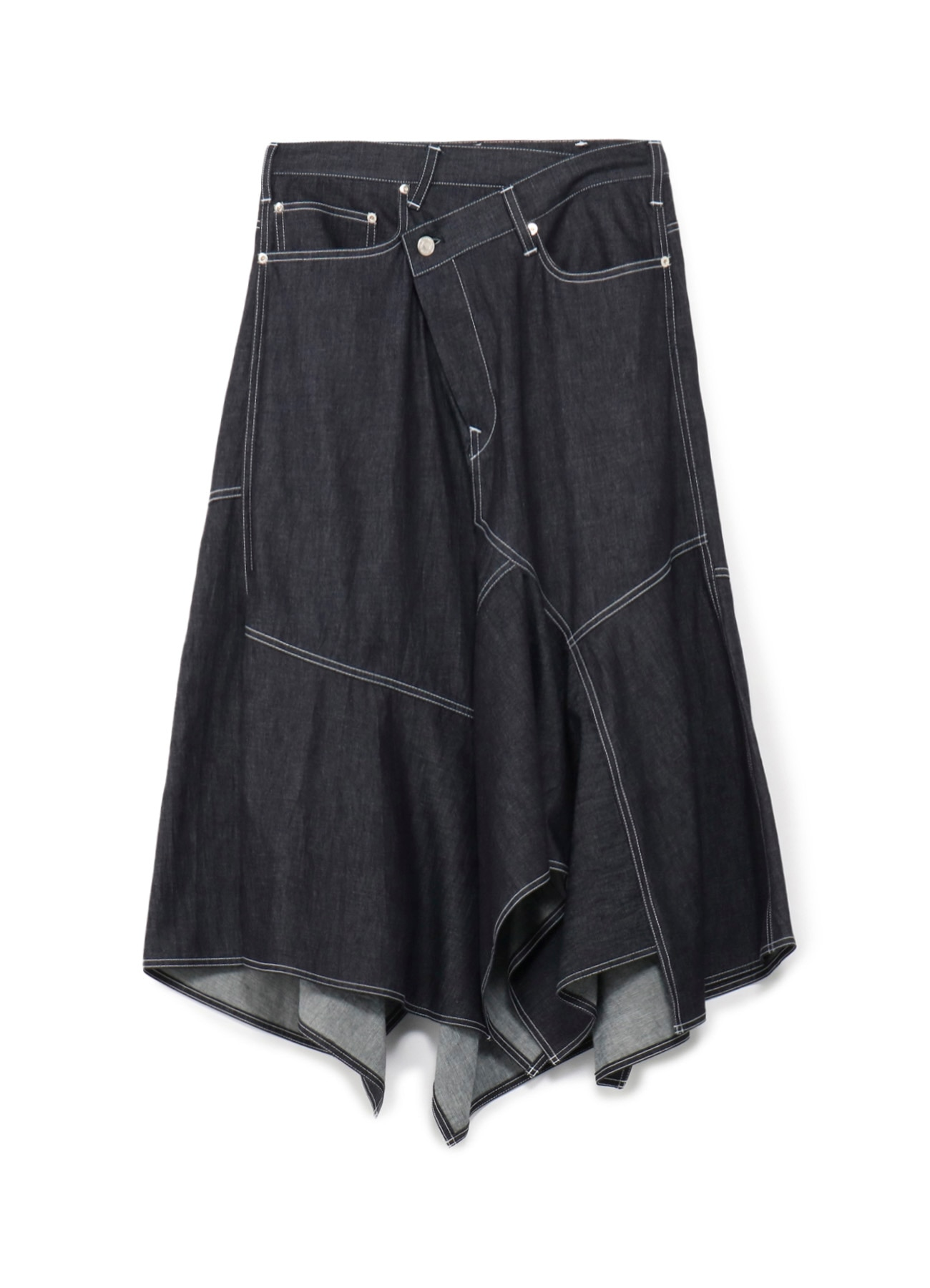 6oz Denim Flare Skirt