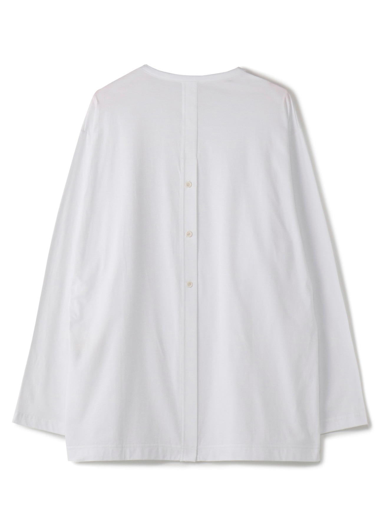 30 / cotton Jersey_ Back slit Long Sleeves CutCut Sew