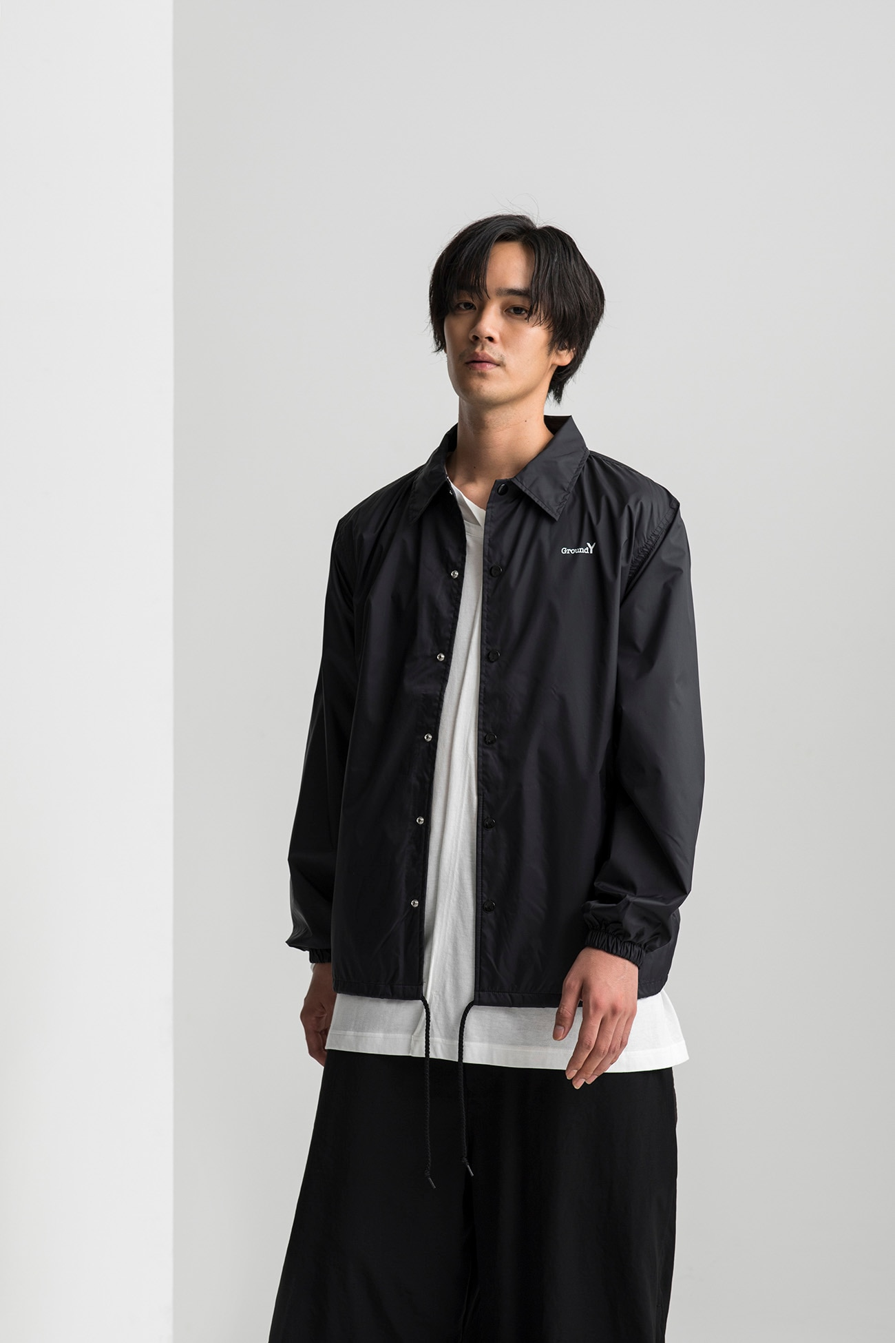 Random Logo Nylon Coach Jacket Type A