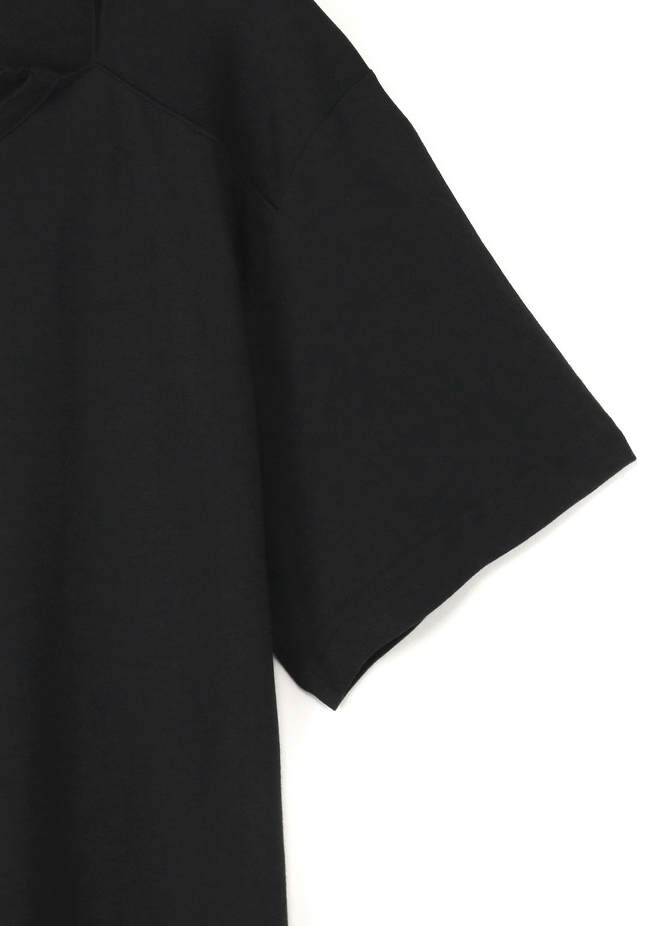 Modal Cotton Front Double Slit T Short Sleeves