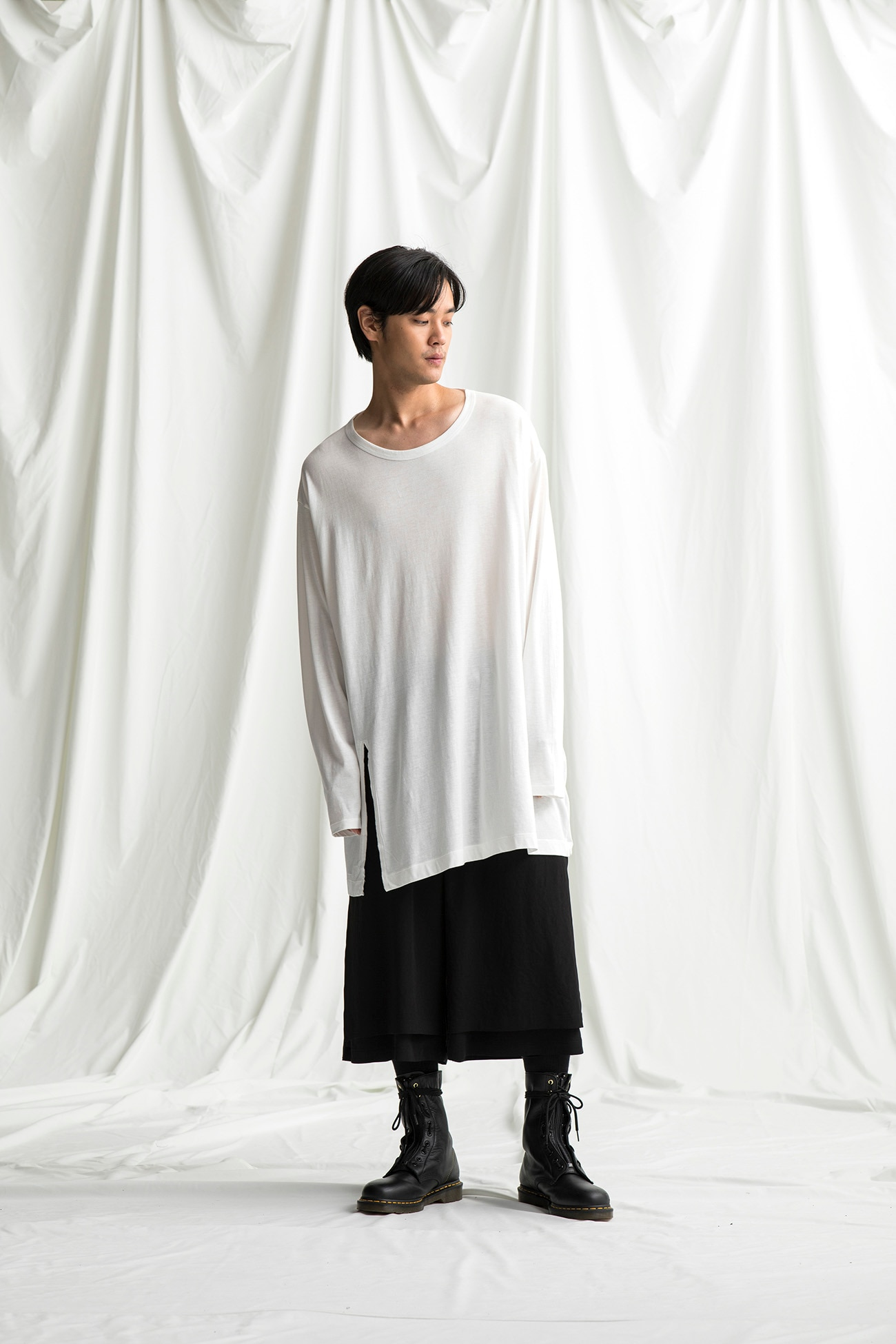 Modal Cotton Jumbo T Long Sleeves