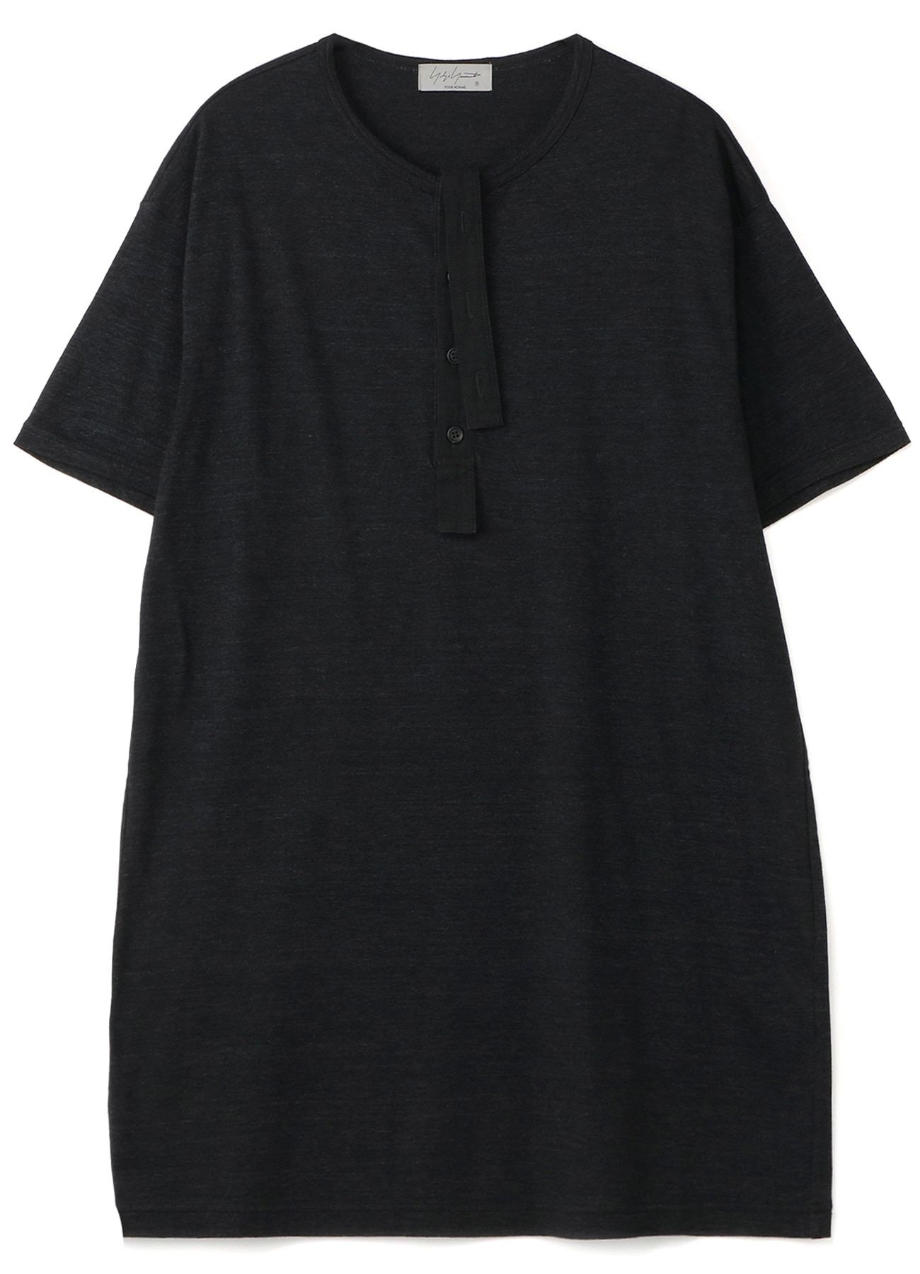 PATCHED OZONE PROCESS PLACKET HENLEY NECK