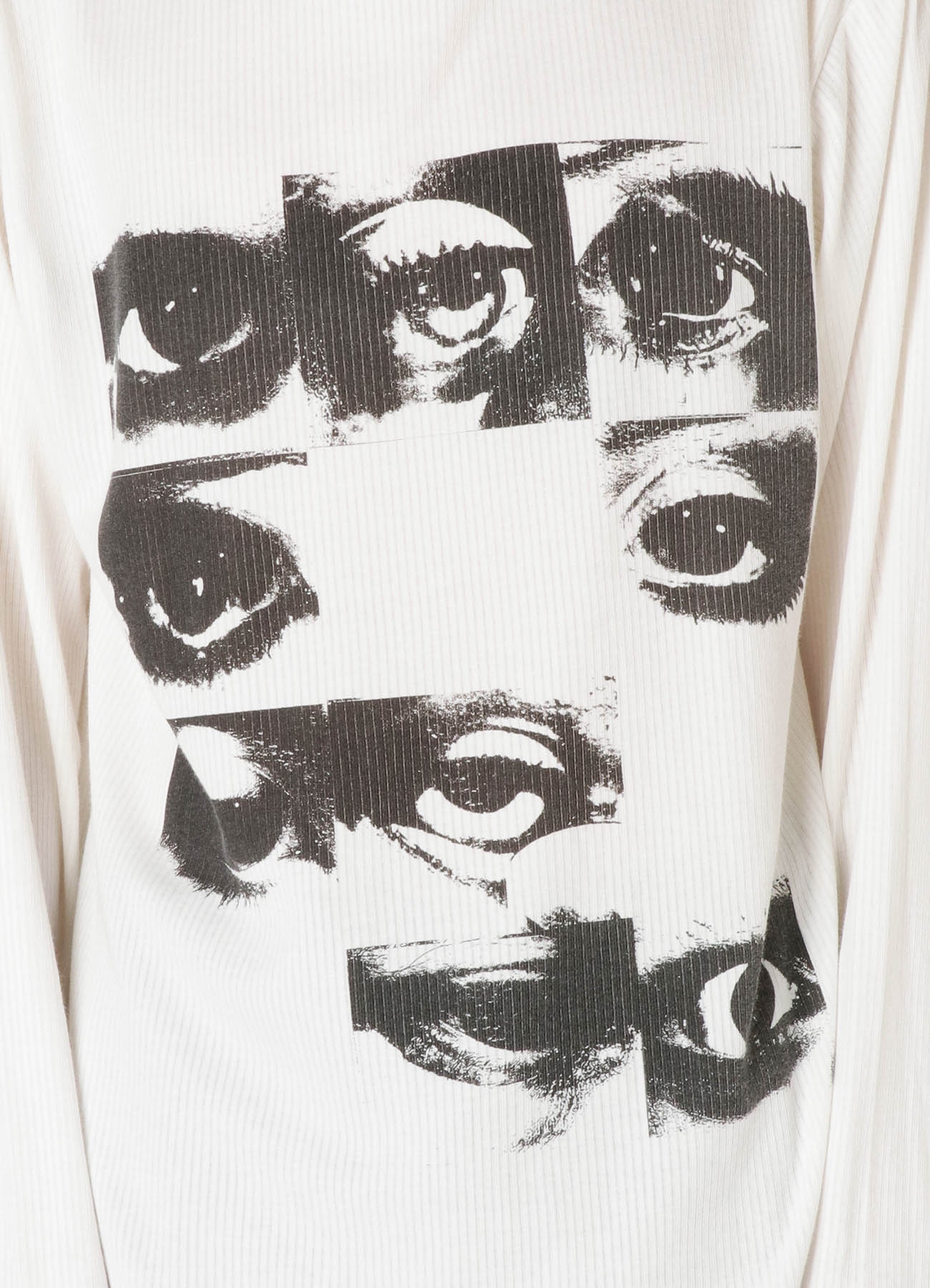 12EYE PRINT BIO ROUND NECK LONG SLEEVES