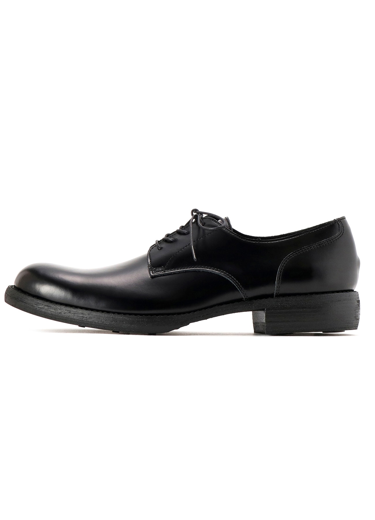 COSTUME D'HOMME Shiny glass plane toe