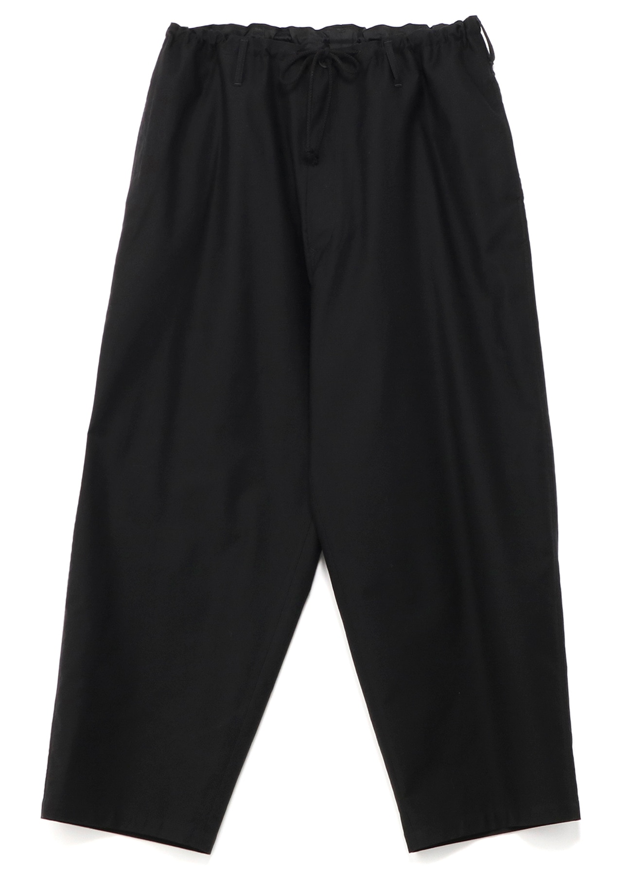 Cotton twill string pants