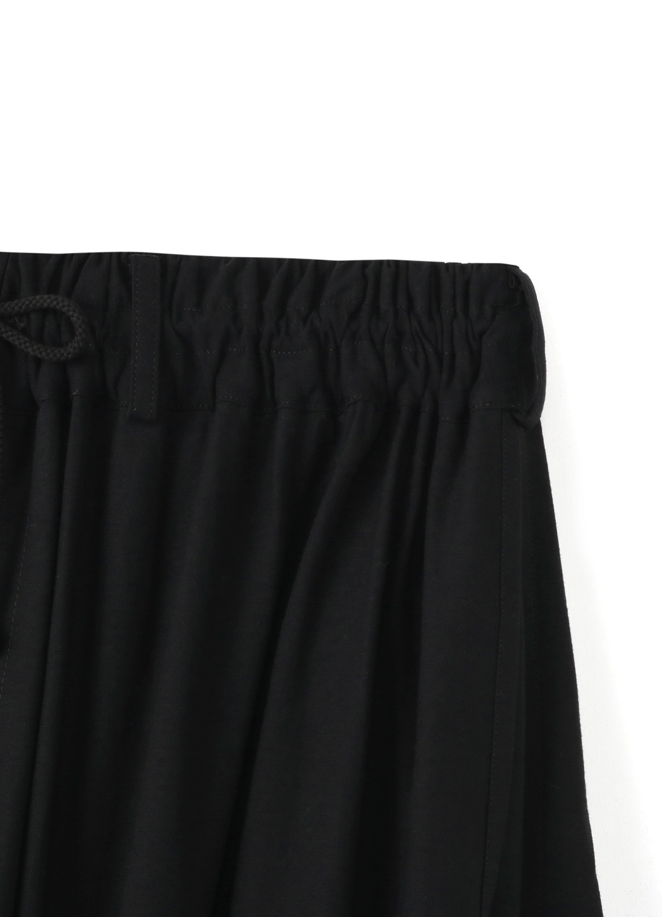 ​ ​Strongly twisted tearwear  boxed pleat pants