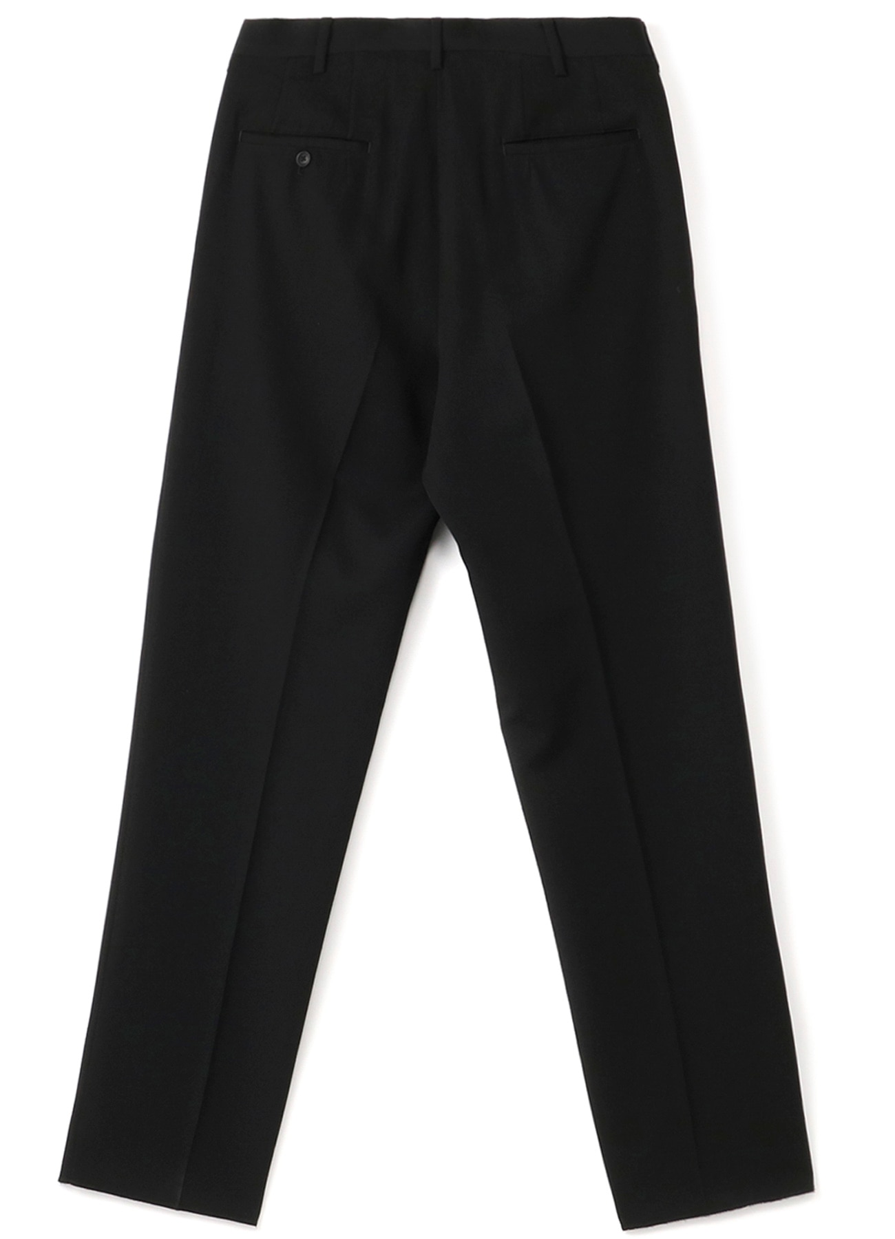 COSTUME D'HOMME wool gabardine no Tacked Pants