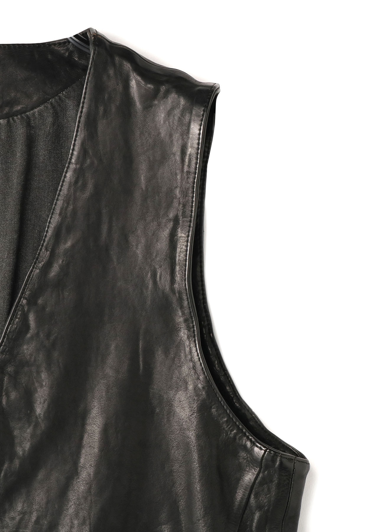 BACKLASH COWLEATHER DYEING VEST
