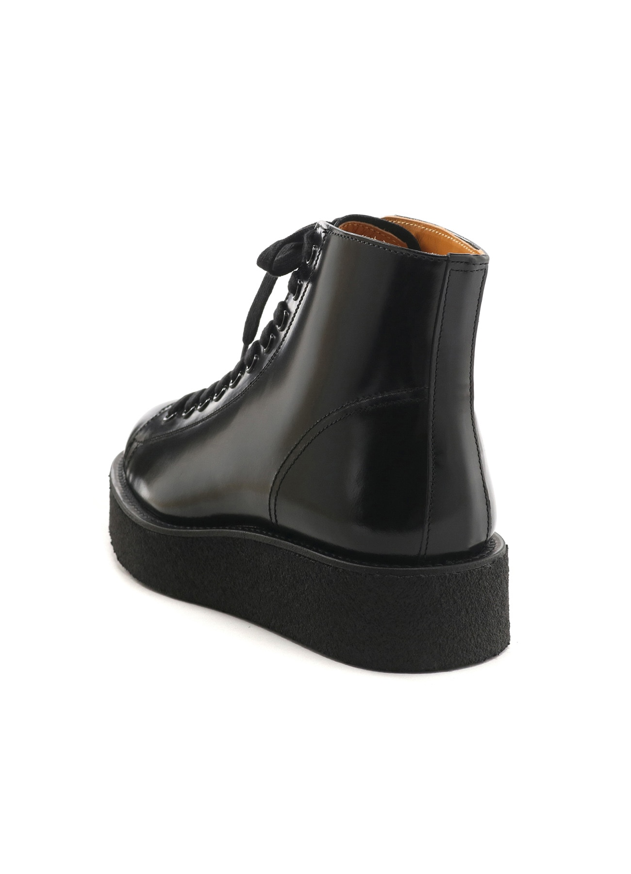 GLASS LEATHER DEMI BOOTS