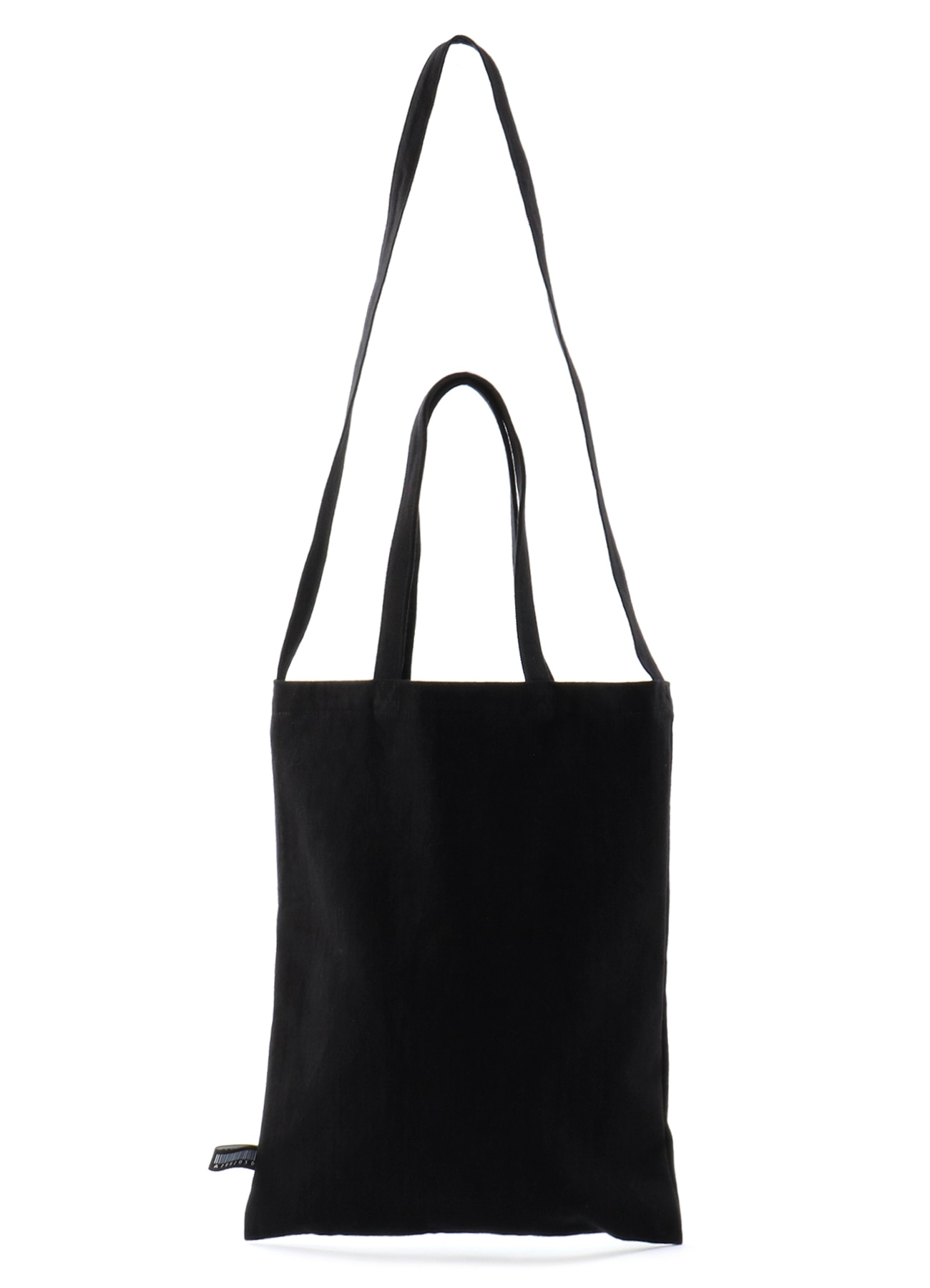 Uneven yarn denim logo TP tote