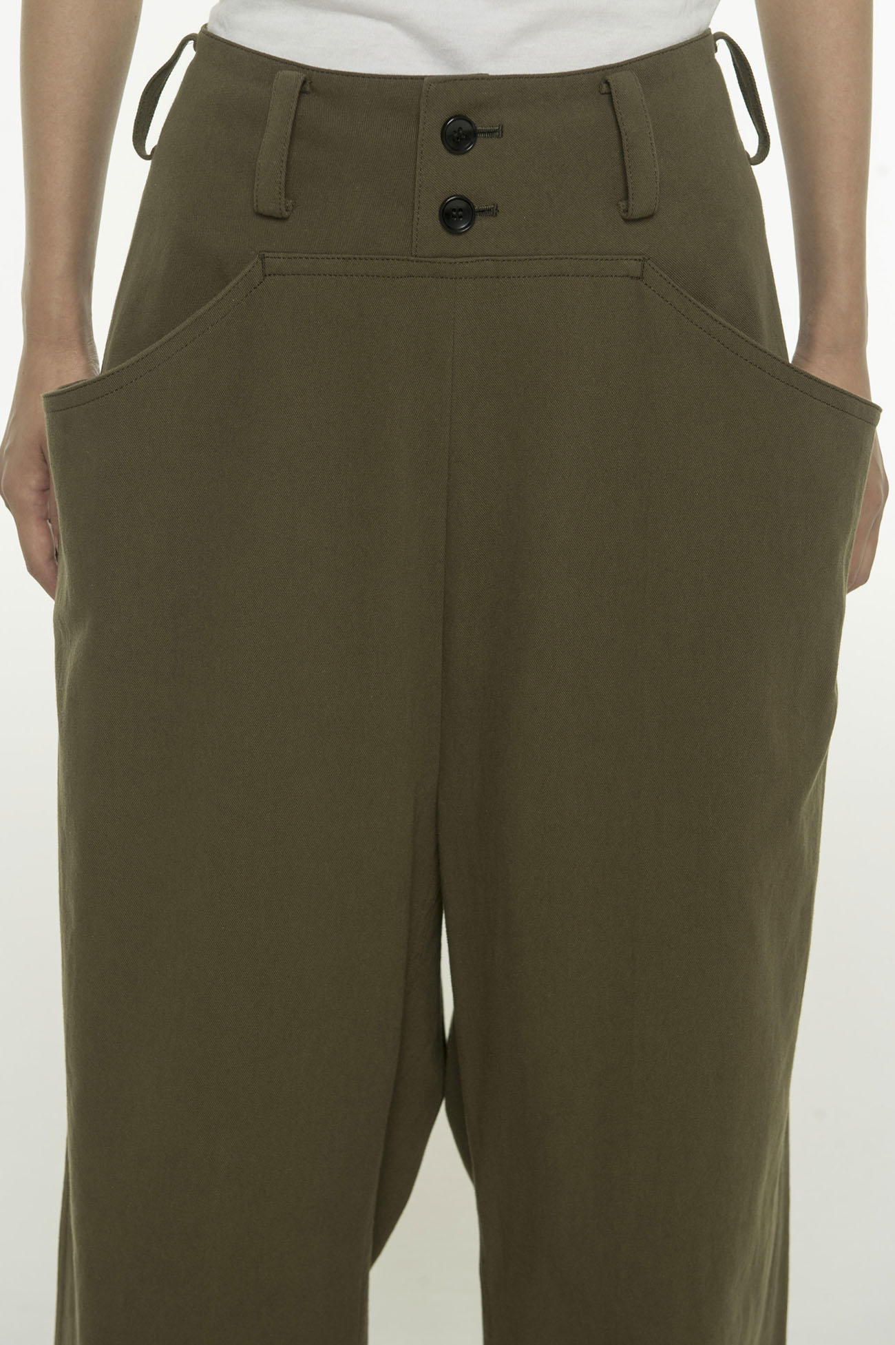 Sharicino switching pocket pants
