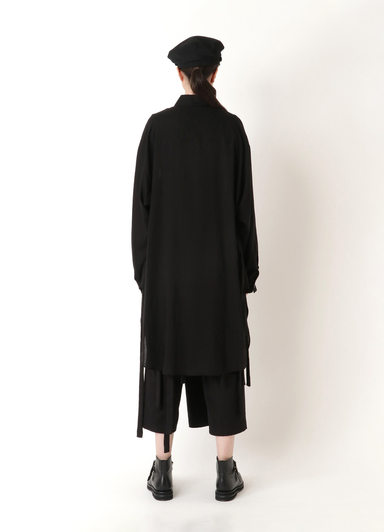 TEN/LAWN B/ROUND HEM LONG SLEEVE