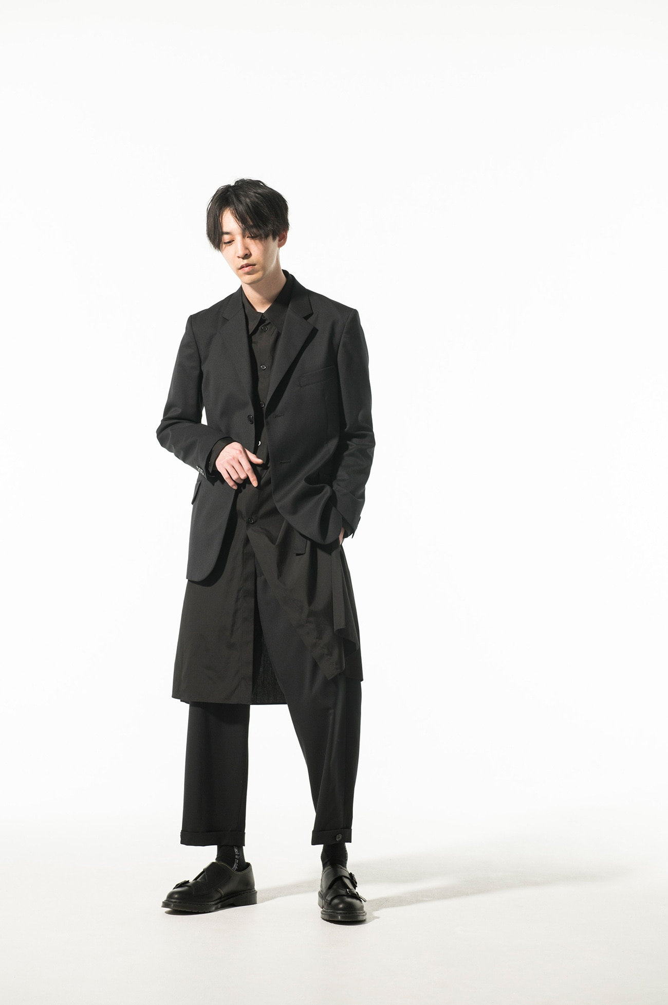 T/W Gabardine 2BS slim jacket