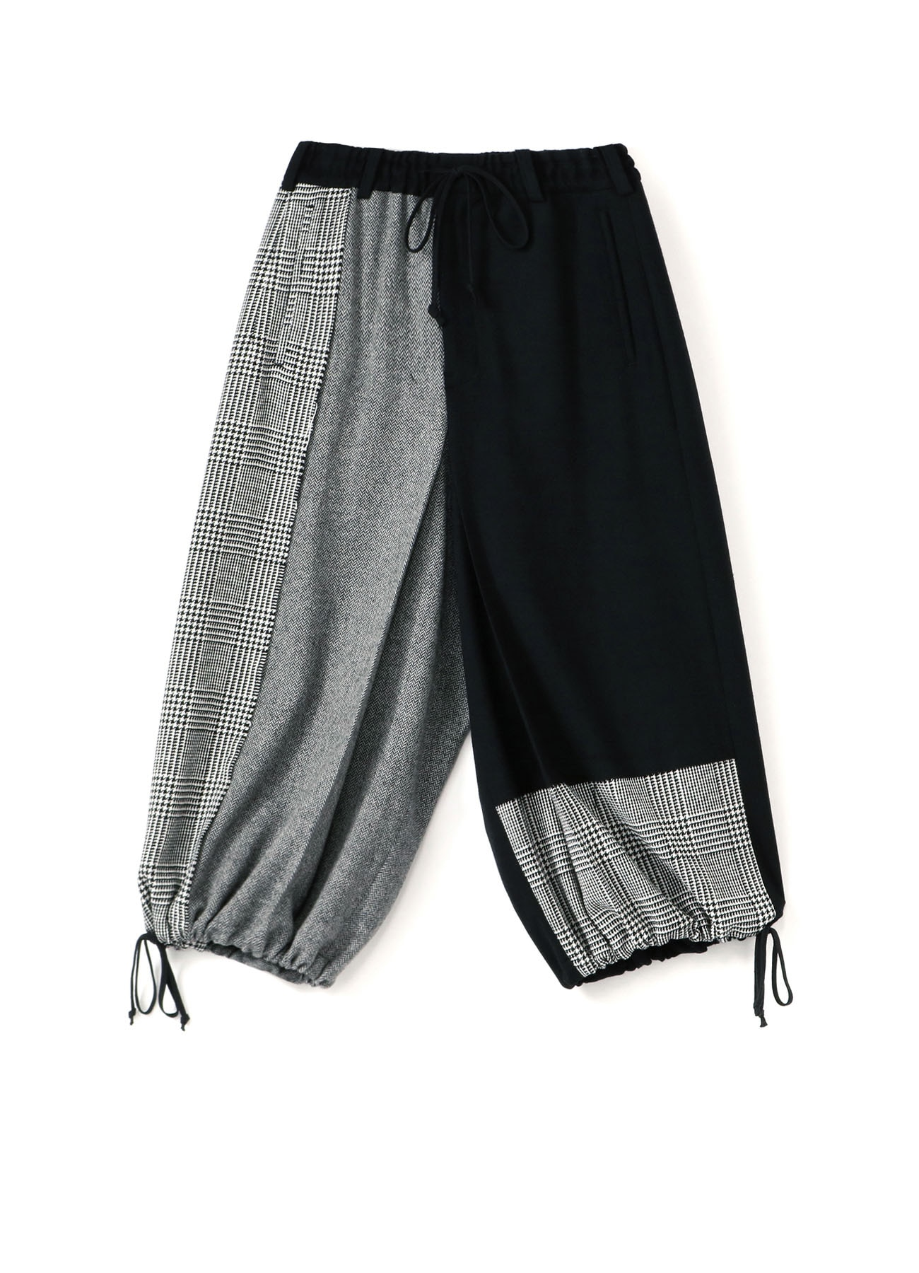 Etermin Tweed Panel Hakama Balloon Pants