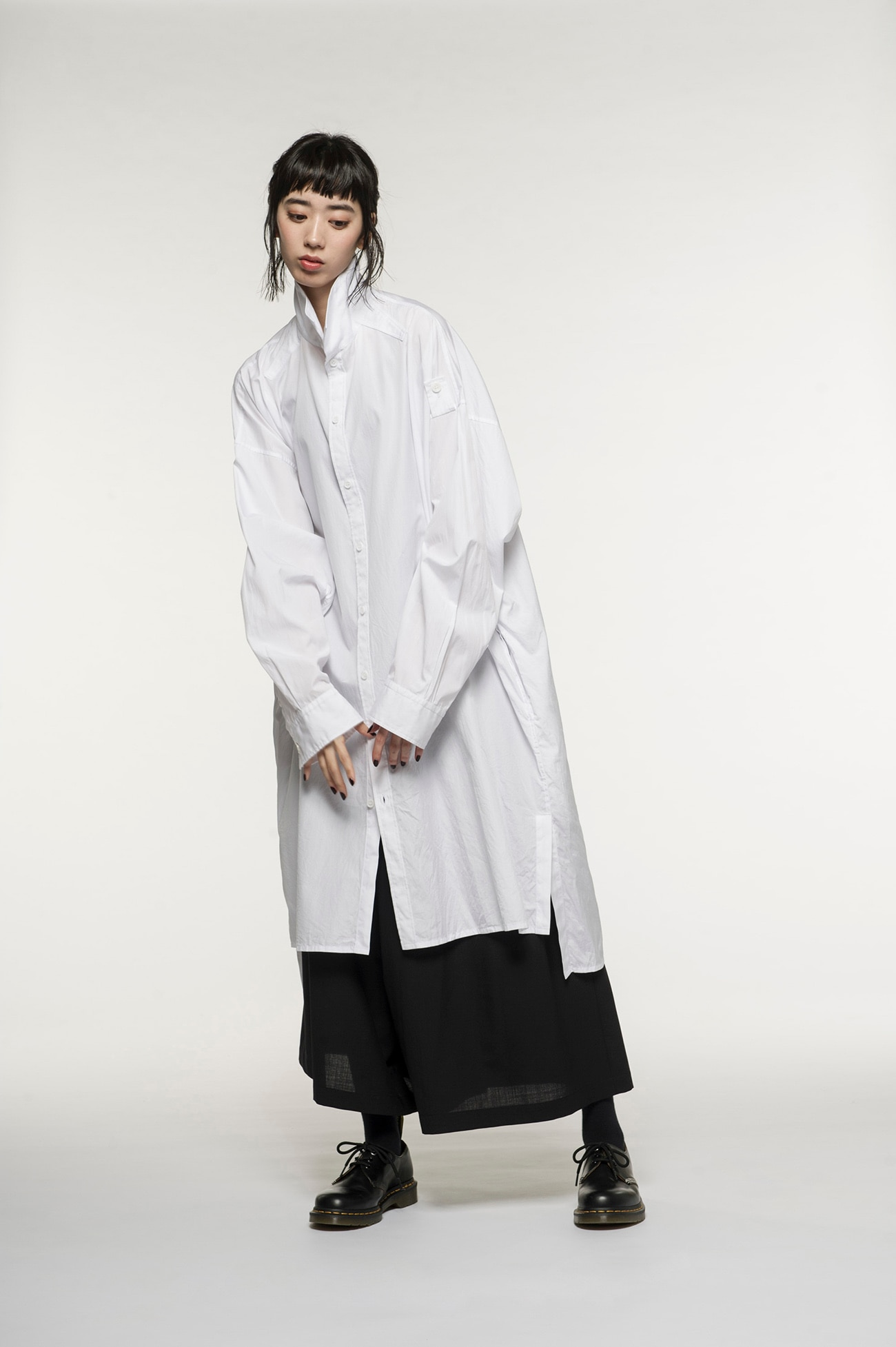 100/2 Broad Drop Shoulder Big Long Shirt
