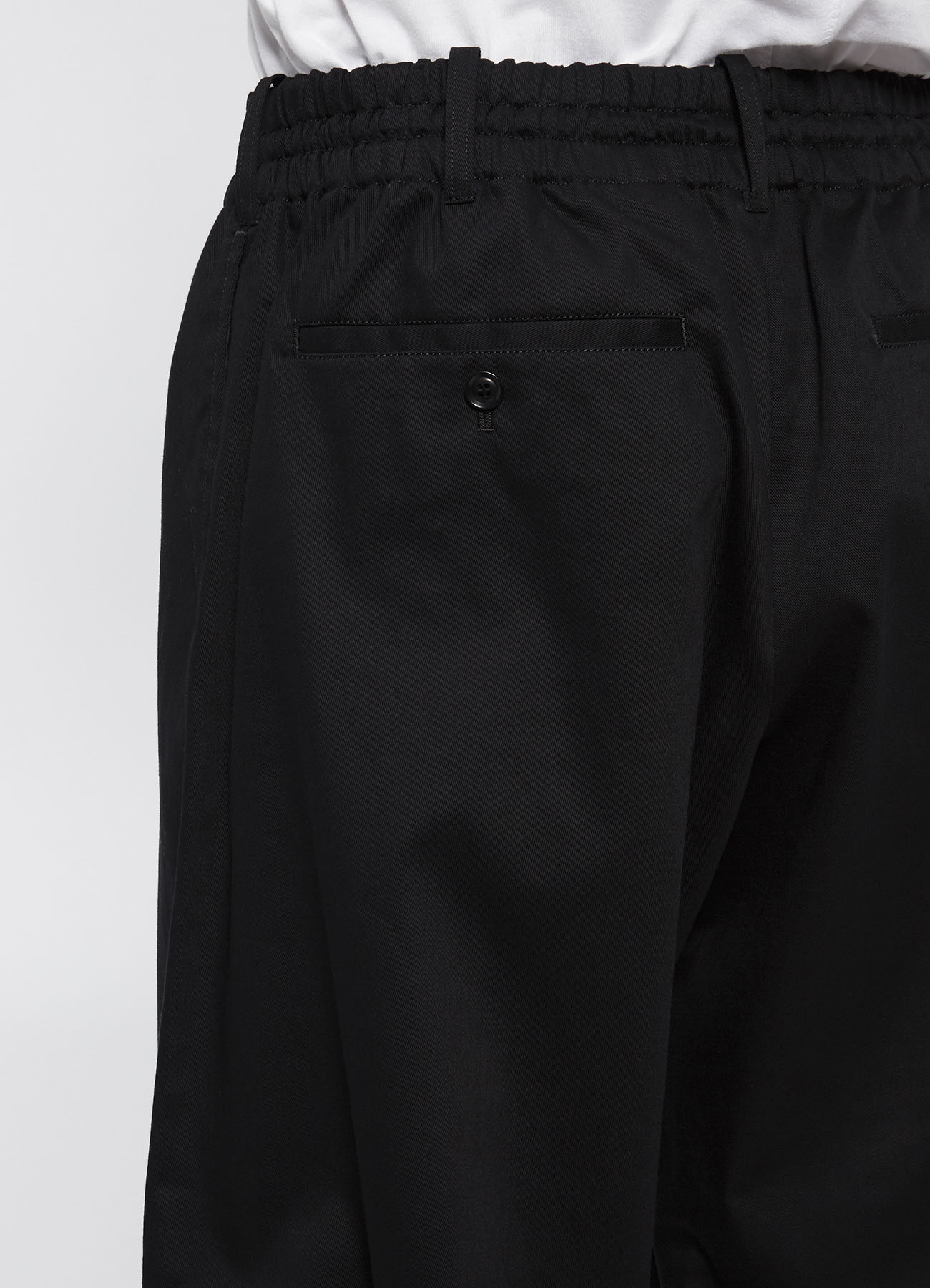 20/Cotton Twill Balloon Pants