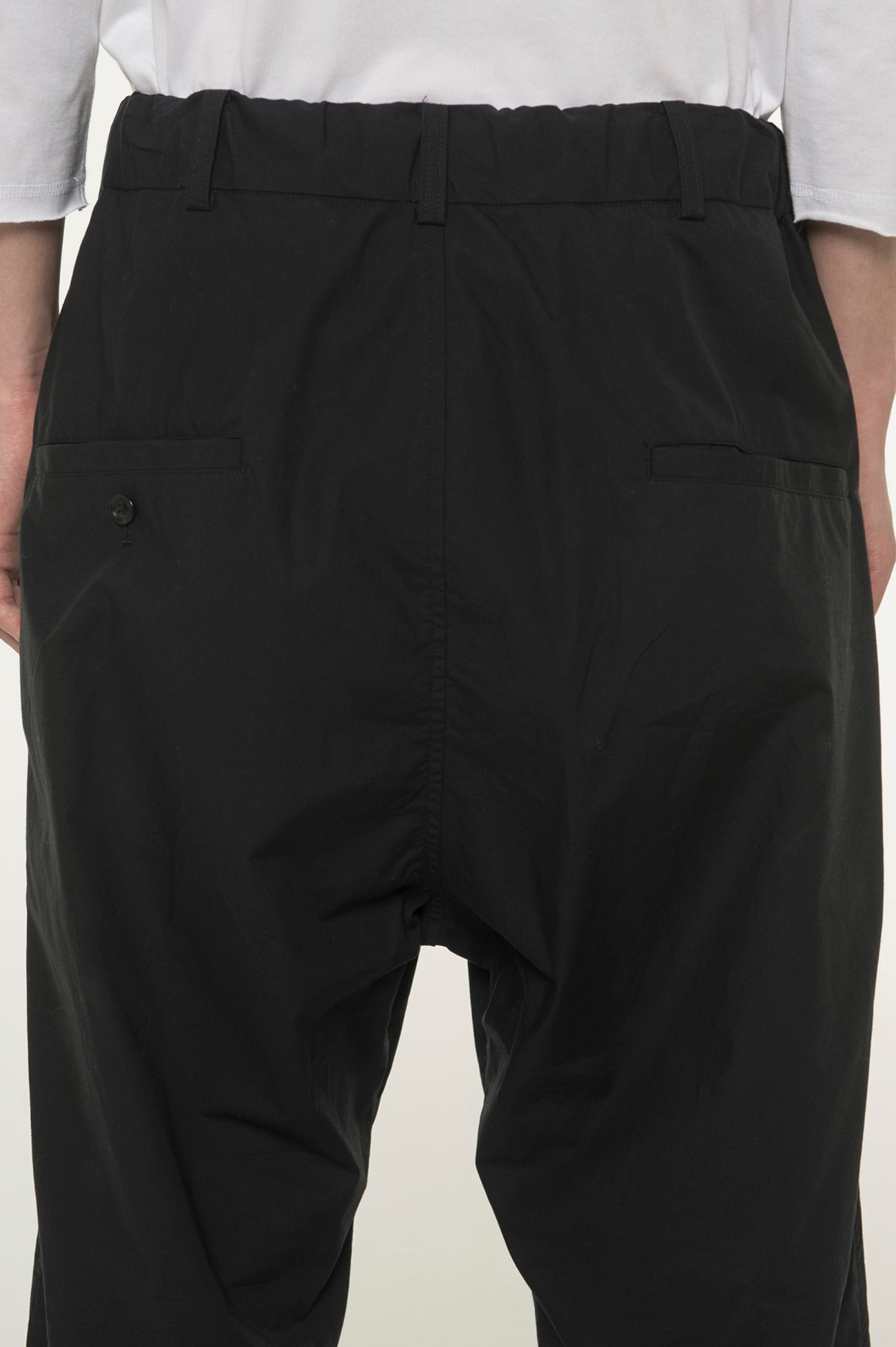 Cotton Type Lighter 6-minute Length Pants
