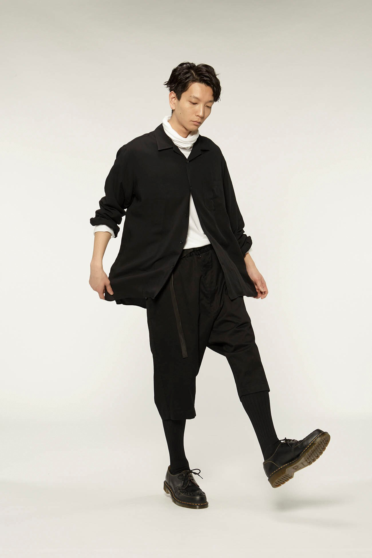 20/Cotton TwillDrop Hip 6-Quarter-Length Pants