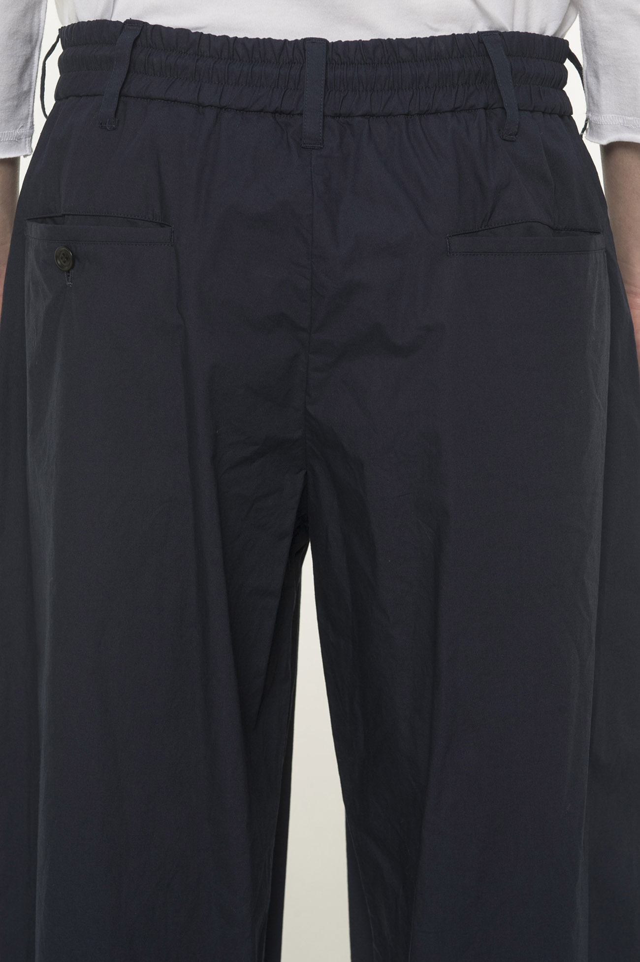 Cotton Type Lighter Center Wide Tack Pants