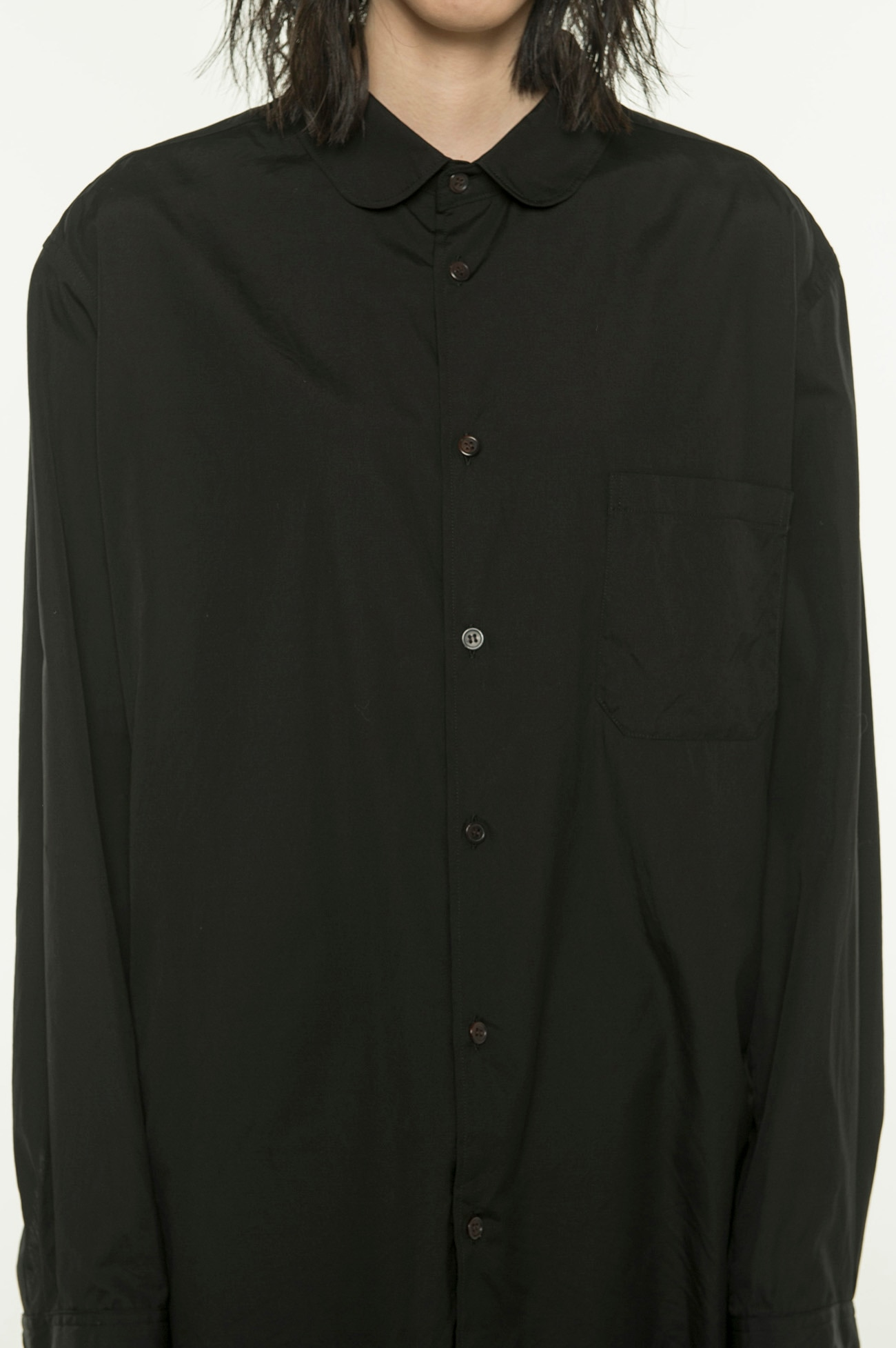 100/2 Broad Round Collar Shirt