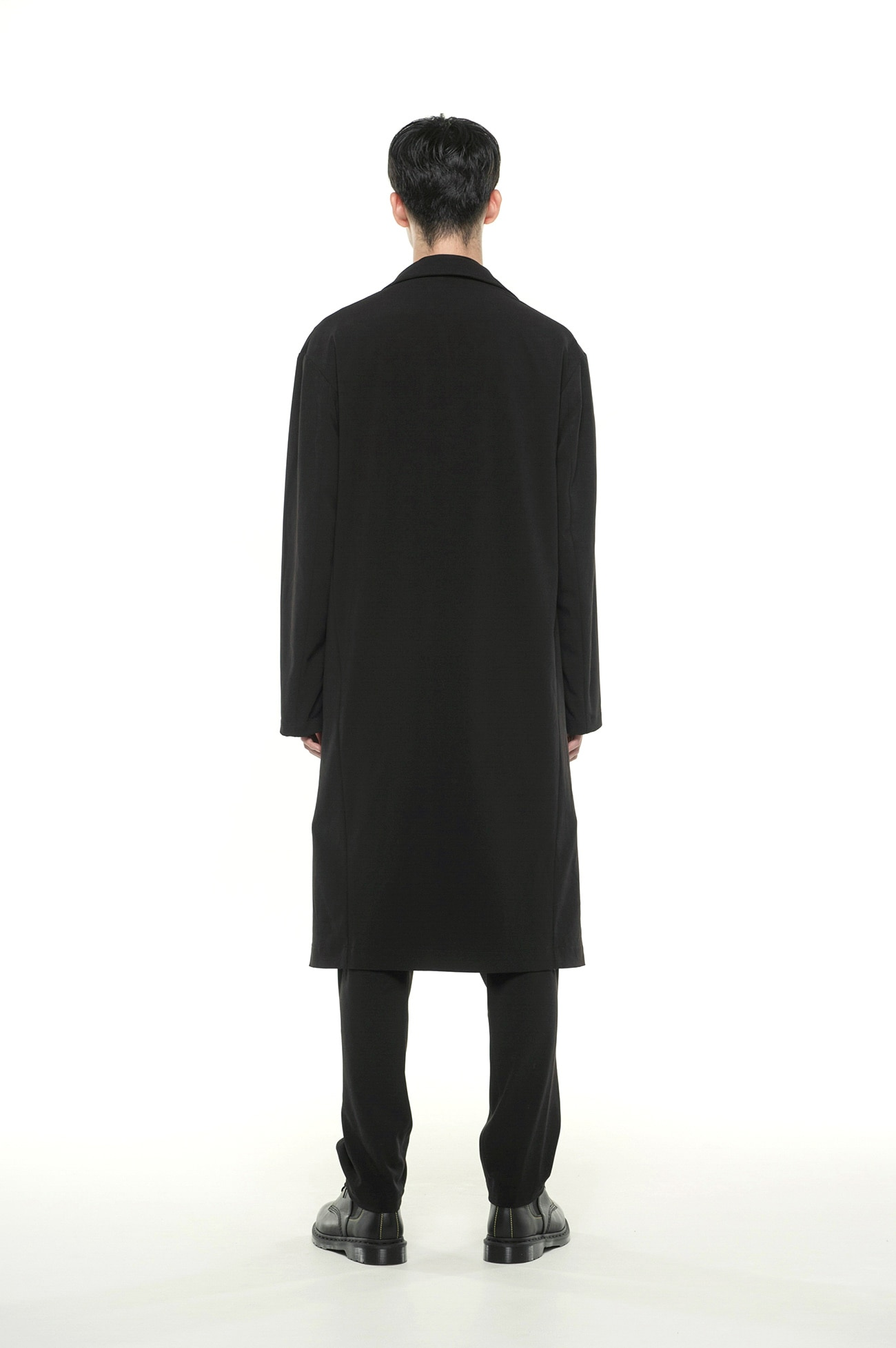 Pe / Rayon Gabardine Stretch Stand 5BW Trench Coat