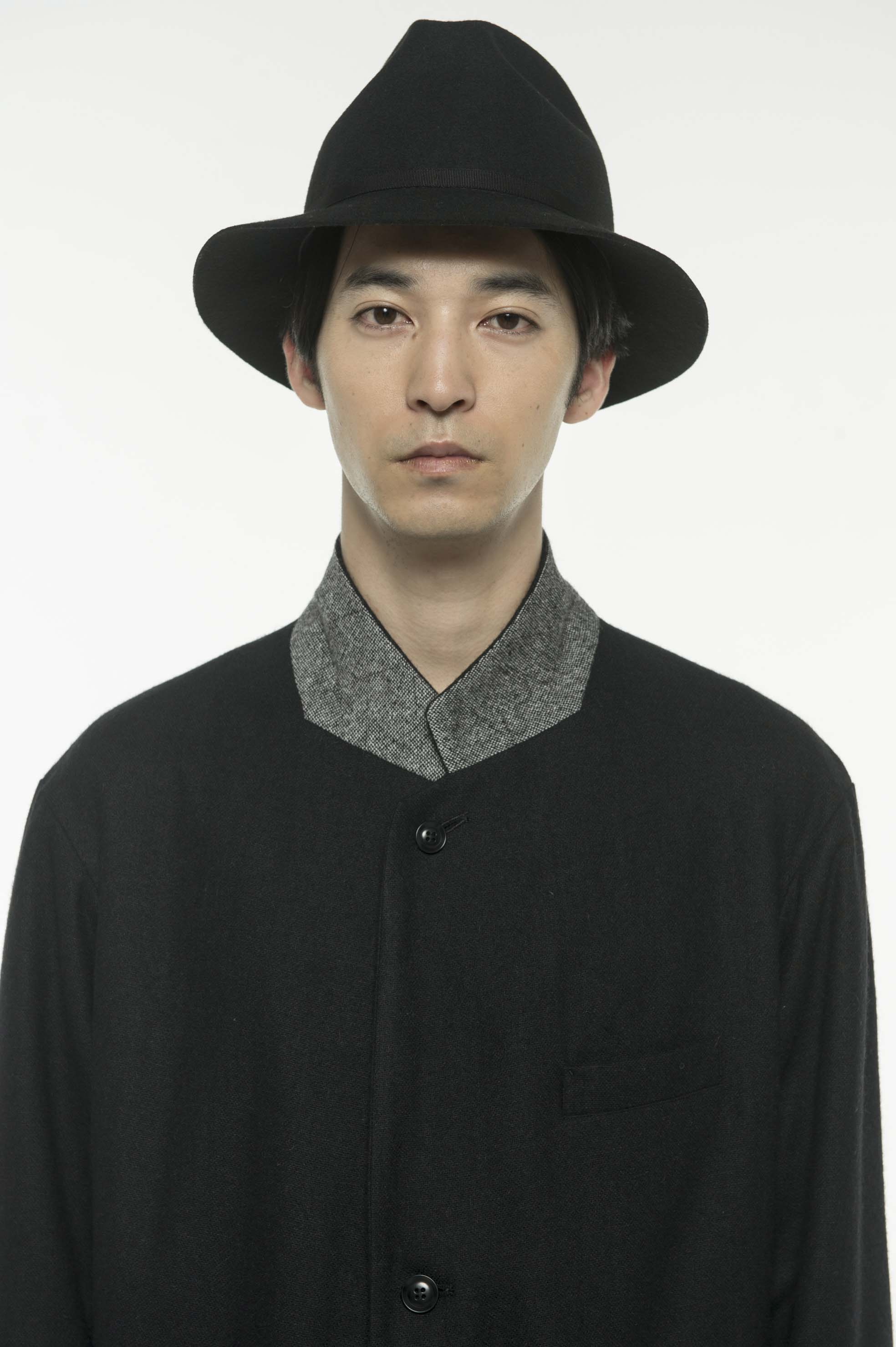 Etermin Tweed Combination 3BS Jacket