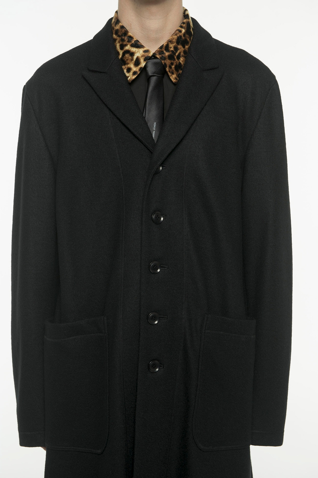 Compression Wool 5BS Peak Chester Coat