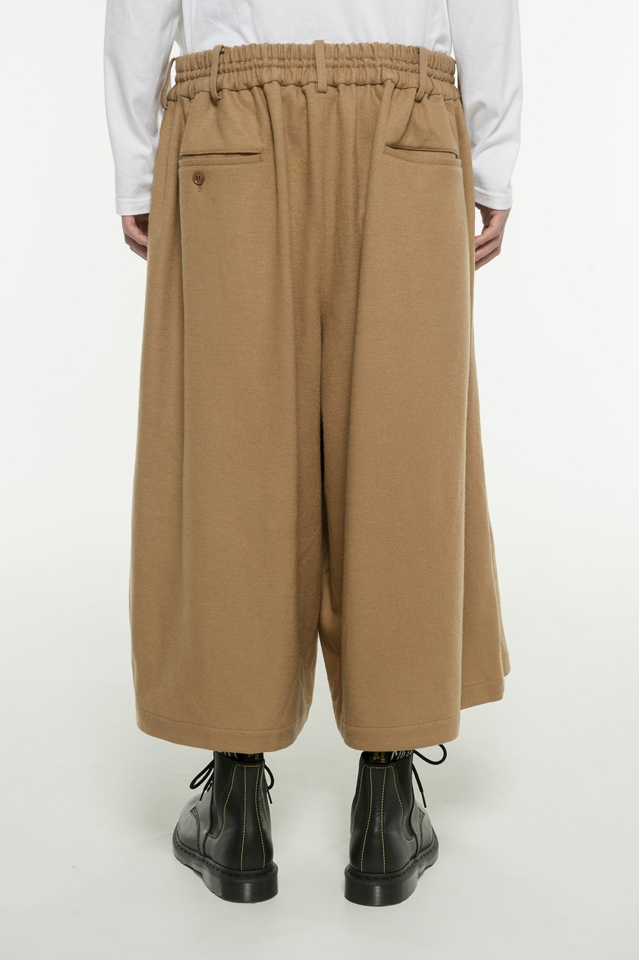 Compression Wool Culotte Pants