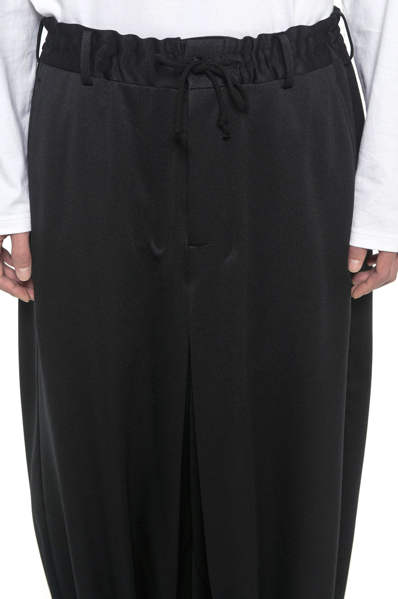 Pe / Smooth Jersey Hakama Balloon Pants