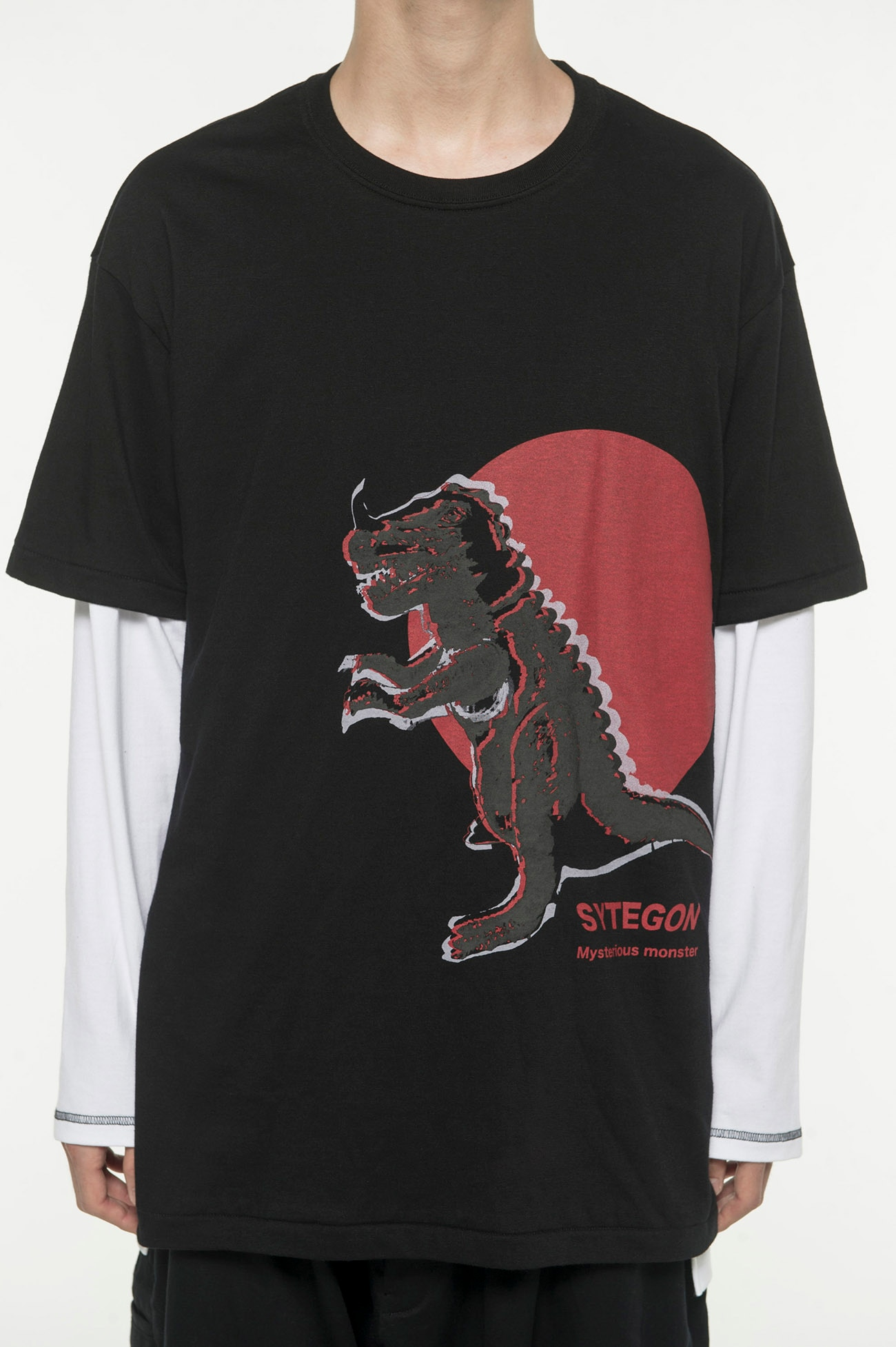 20 / Cotton Jersey Soft Vinyl Monster SYTEGON T-Shirt