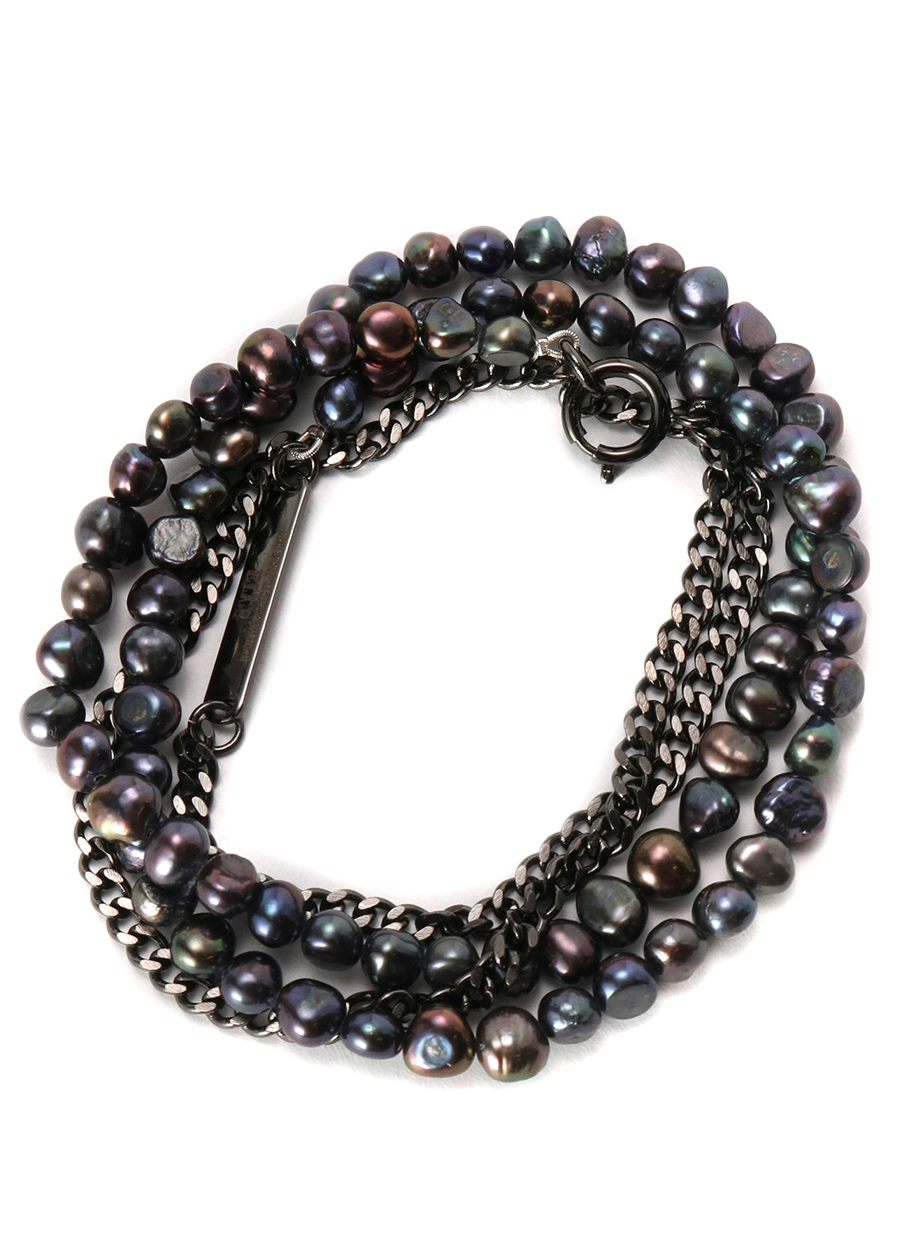 Freshwater Black Pearl Necklace