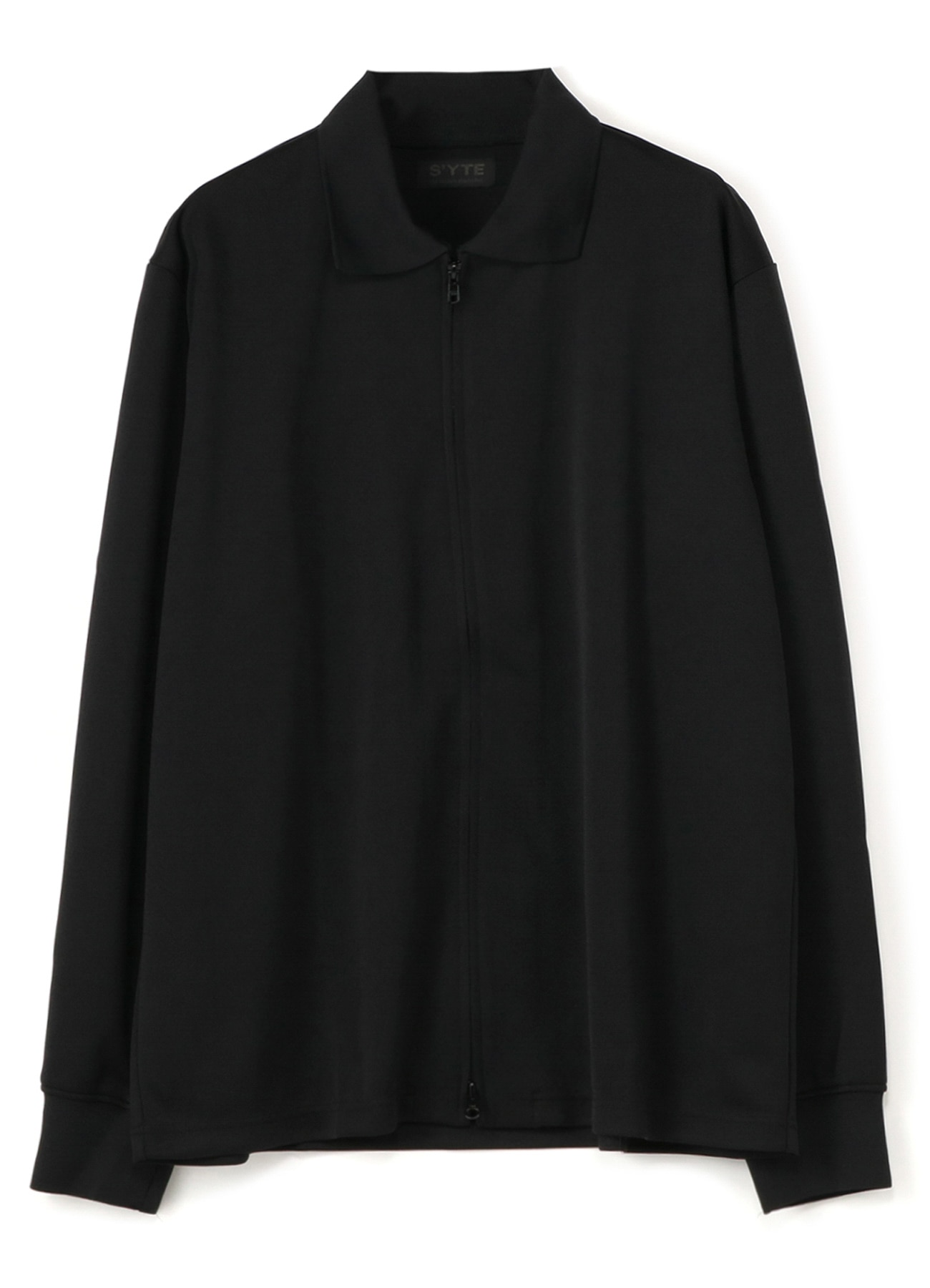 Pe/Smooth Jersey Polo Collar Zip Cardigan