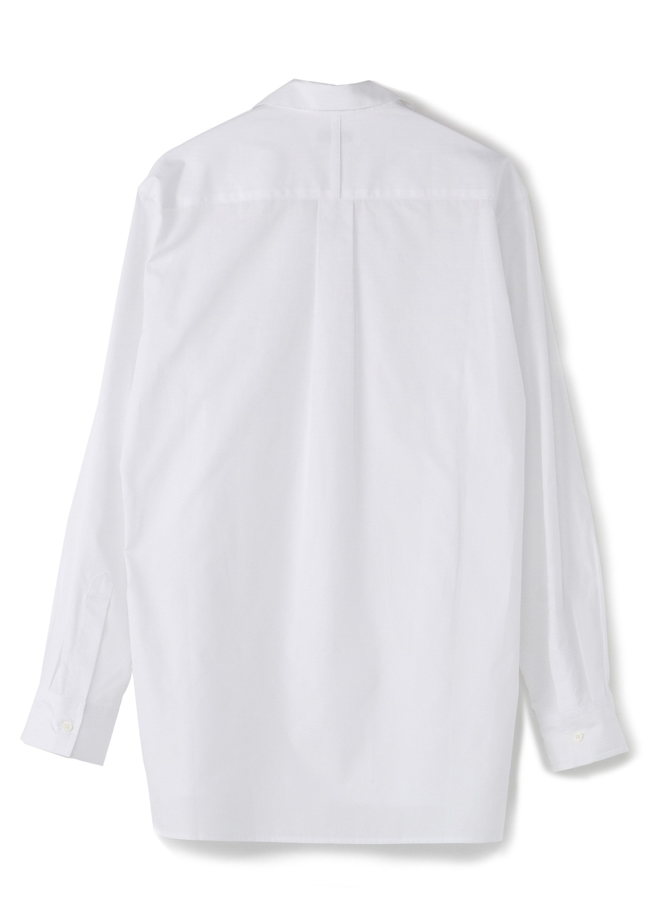 100/2 Broad Open Collar Shirt
