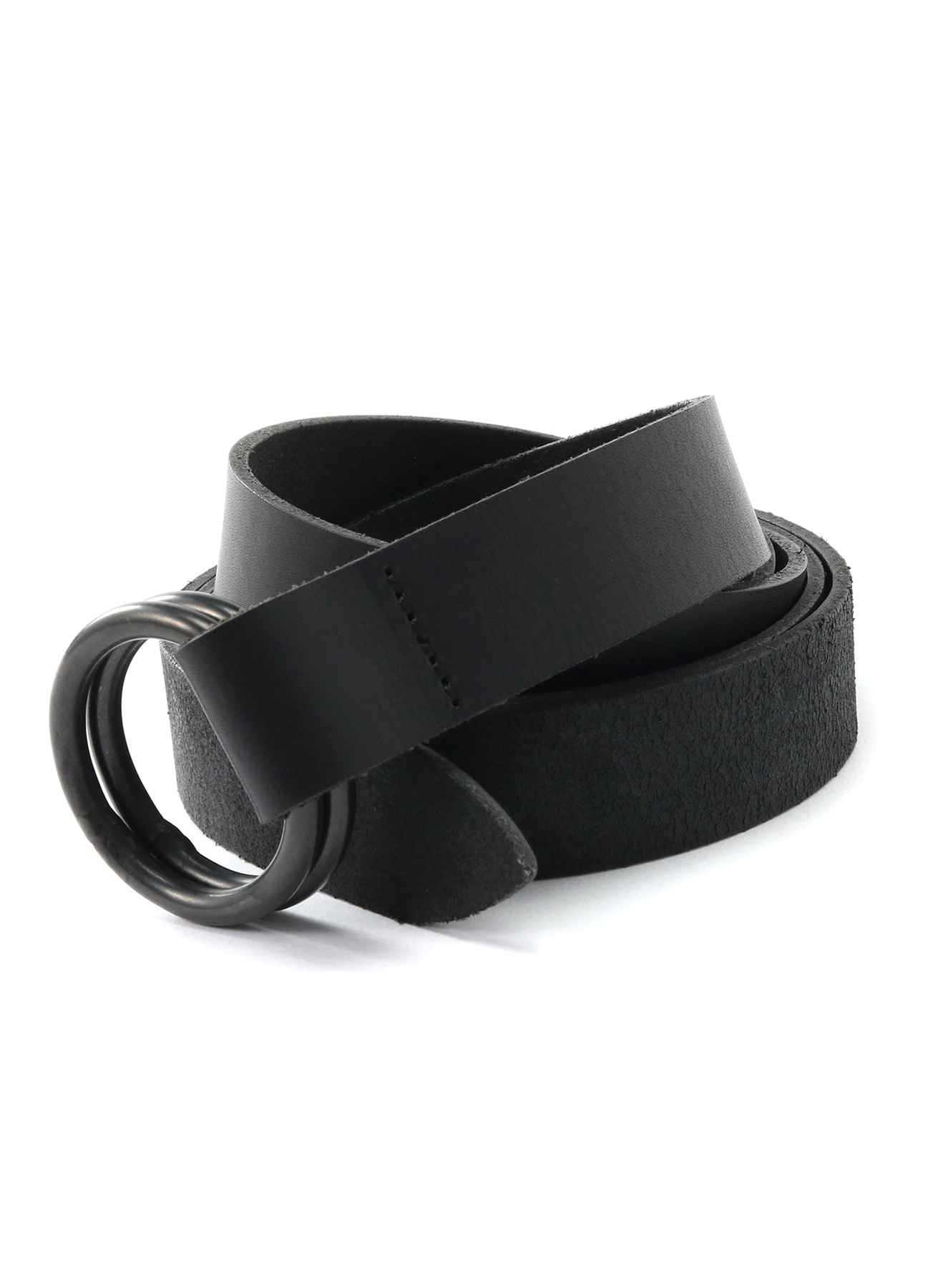 Cow Leather 25 mm Long Ring Belt