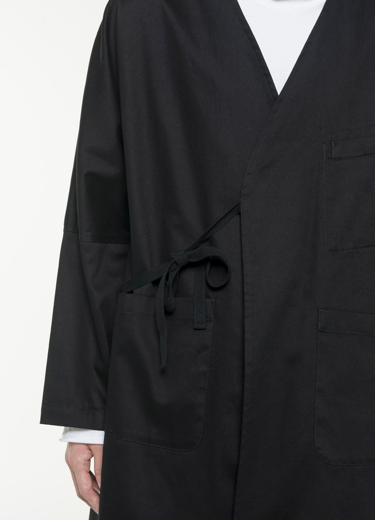 20/Cotton Twill Farmclothes Long Work Jacket