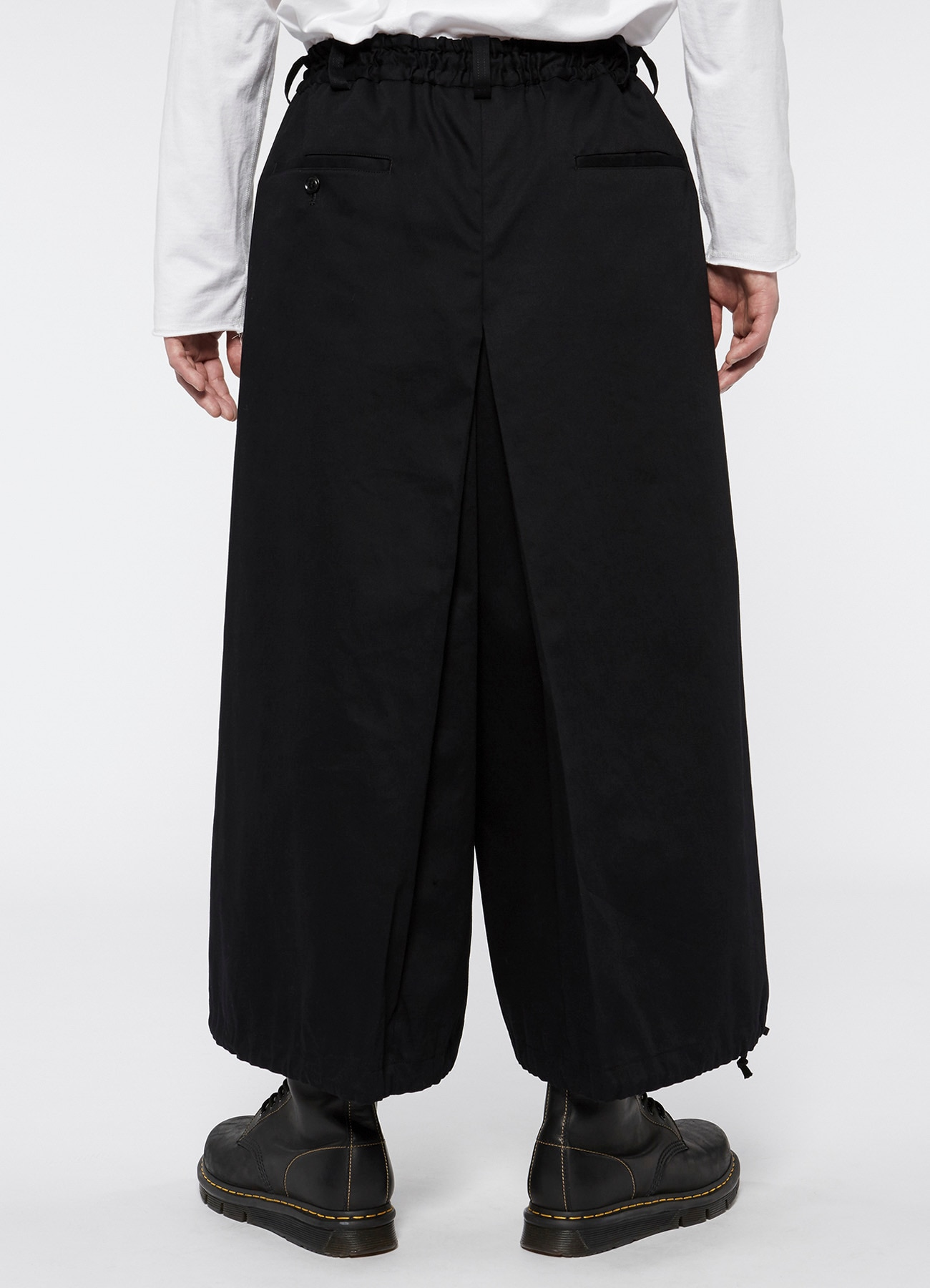 20 / Cotton Twill Hakama Balloon Pants