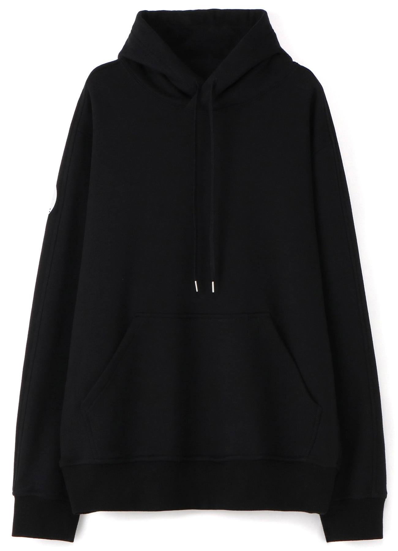 French Terry Stitch Work Message & Crow Hoodie