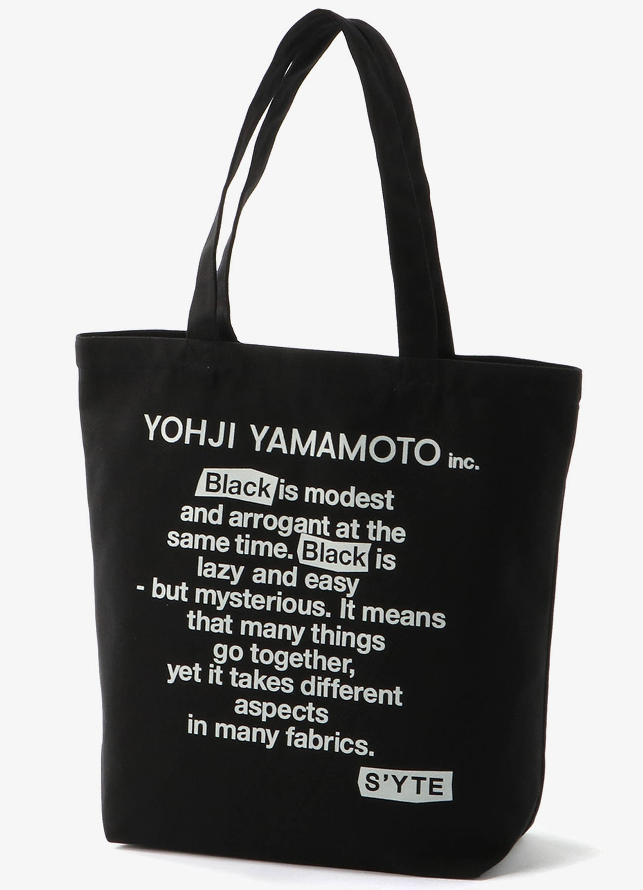 """Black Is Modest"" Message tote bag"