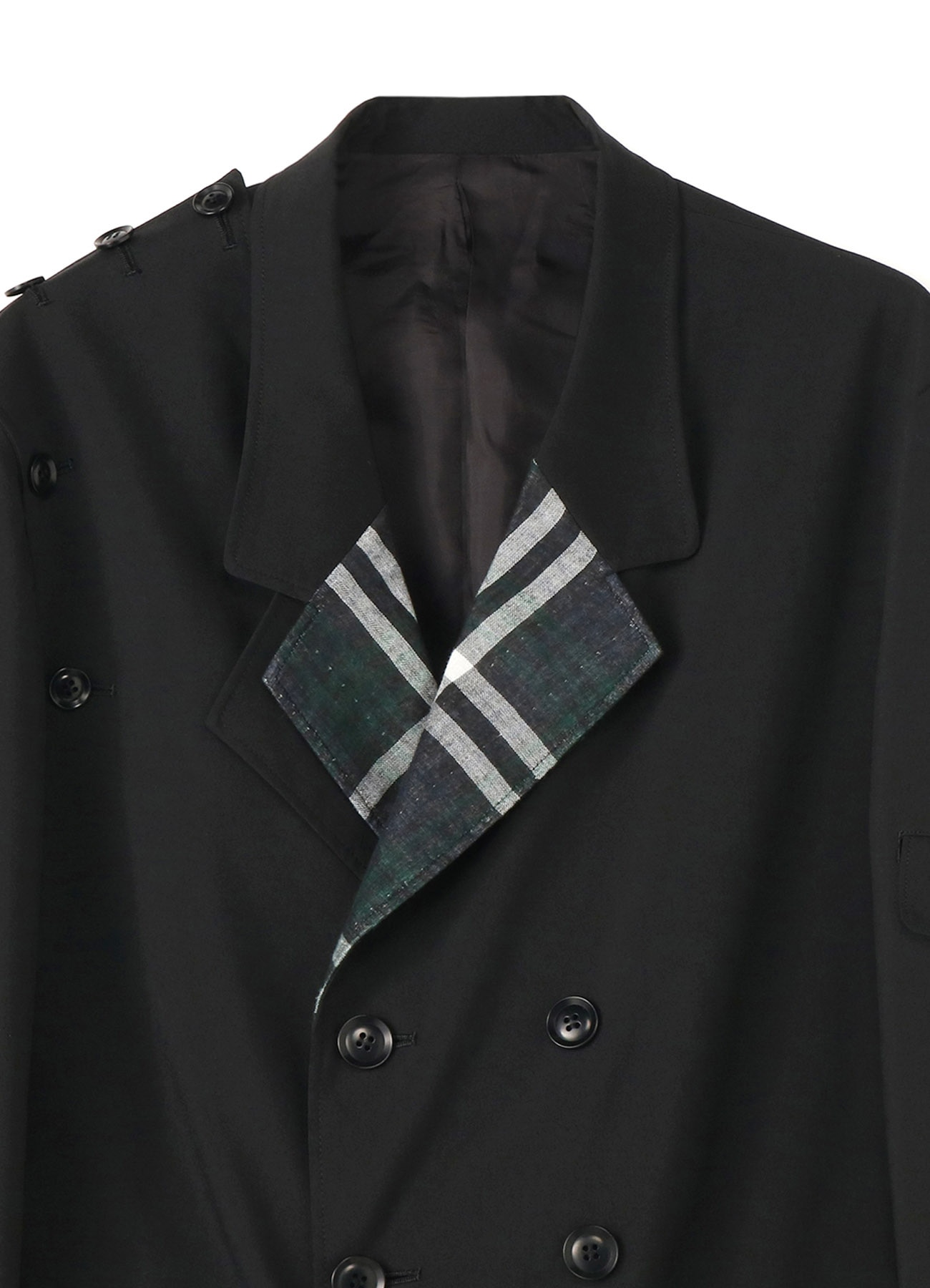 Y's BANG ON!No.101 Detachable Check jacket W