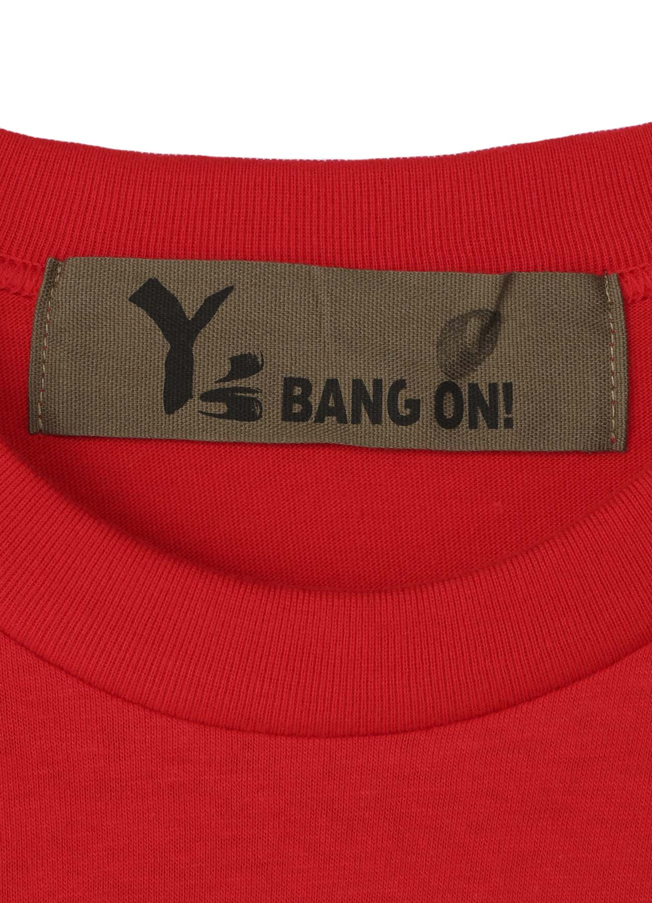 BANG ON! Sleeve logo T-shirt