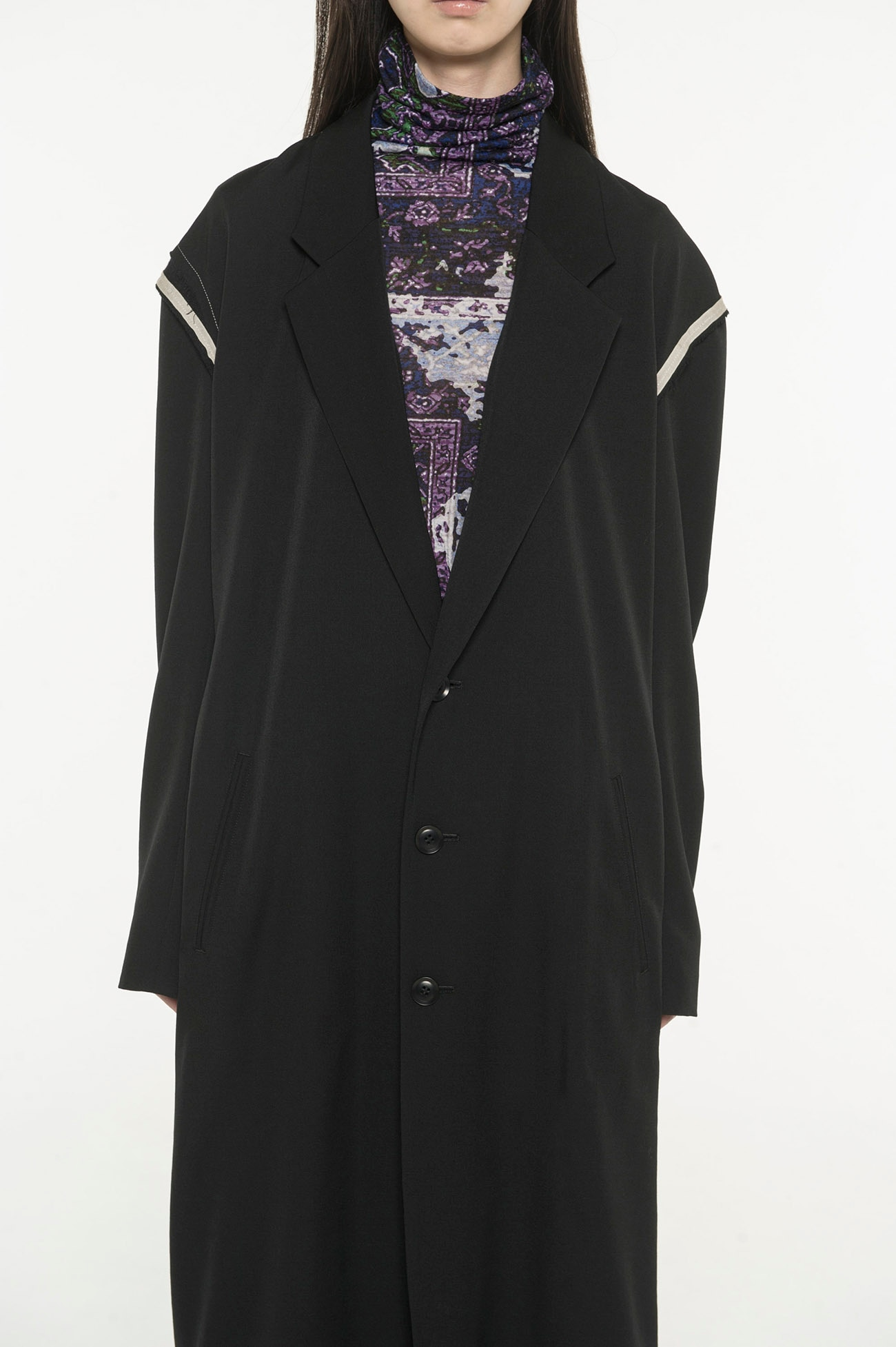 Siwa Gaba Long tailored jacket