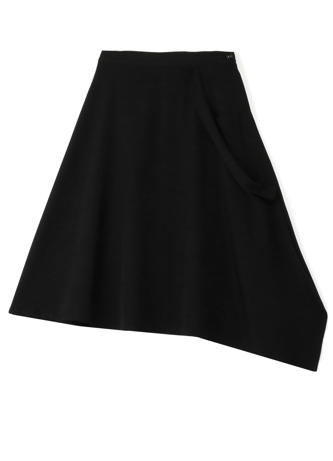 Squid Gaba diagonal flare skirt